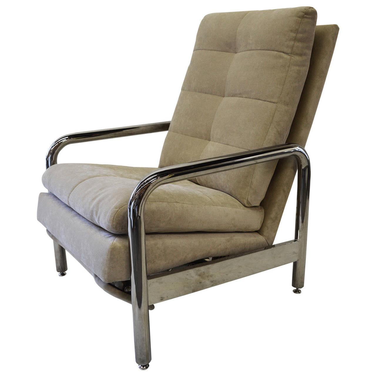 sc 1 st  Chairish & Chrome Recliner by Milo Baughman for Thayer Coggin | Chairish islam-shia.org