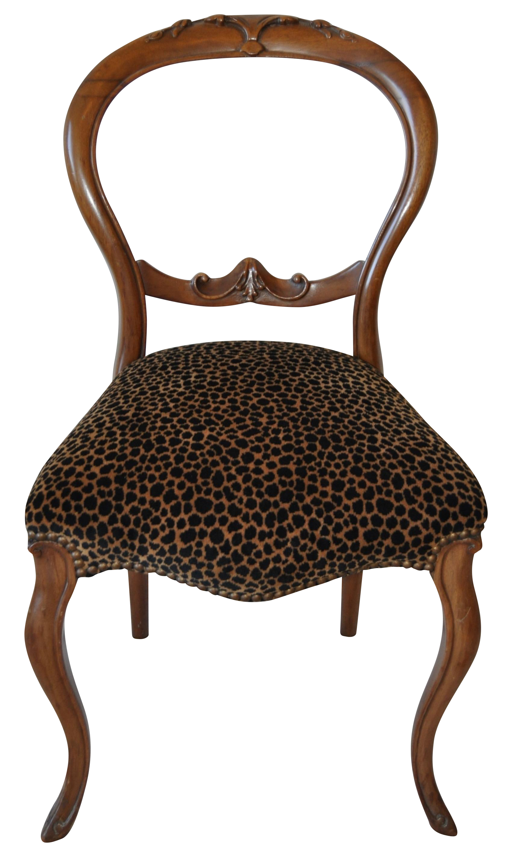 French Louis XV Style Accent Chair C 1880s