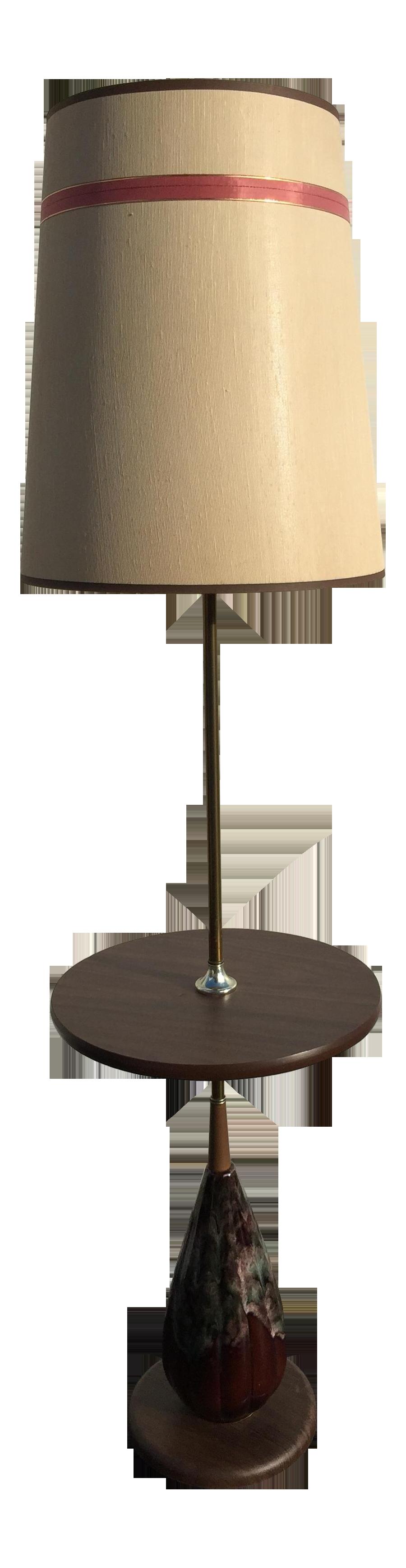 Floor Lamp With Lava Mid Century Ceramic Lava Base Floor