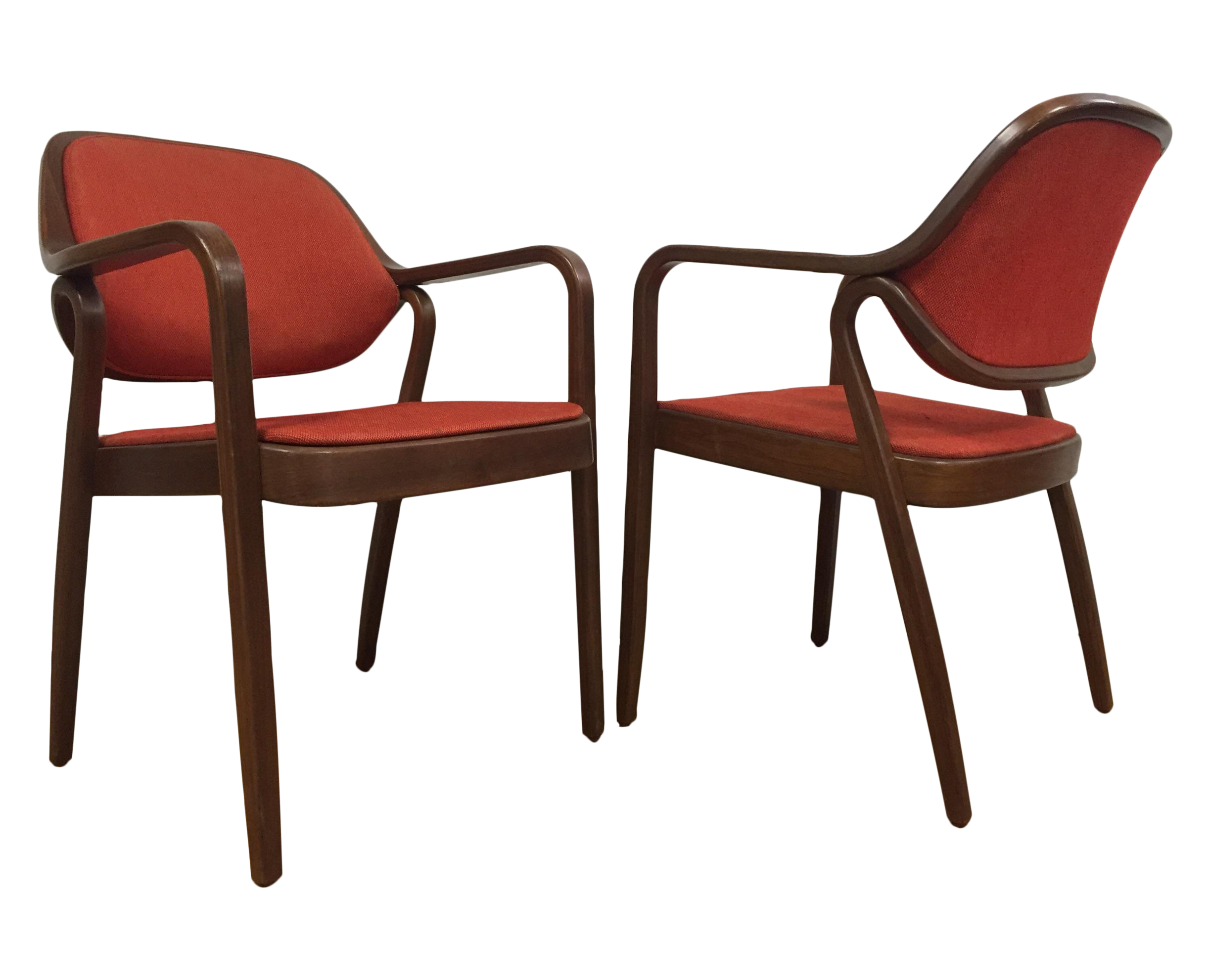 Knoll Chairs by Don Pettit A Pair