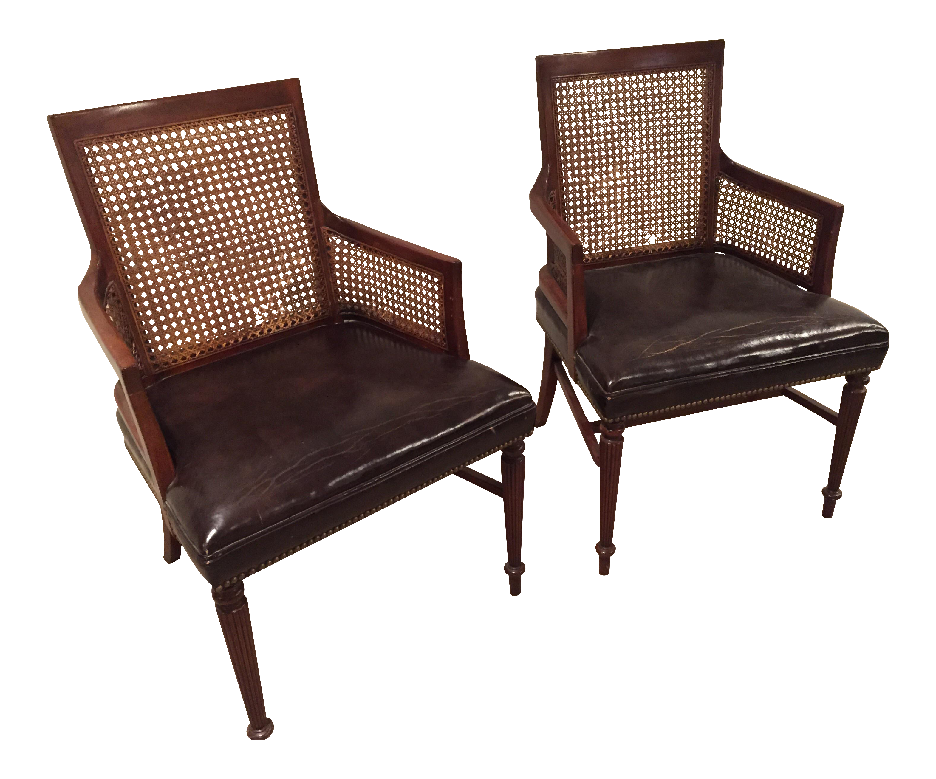 Regency Style Chairs   A Pair | Chairish