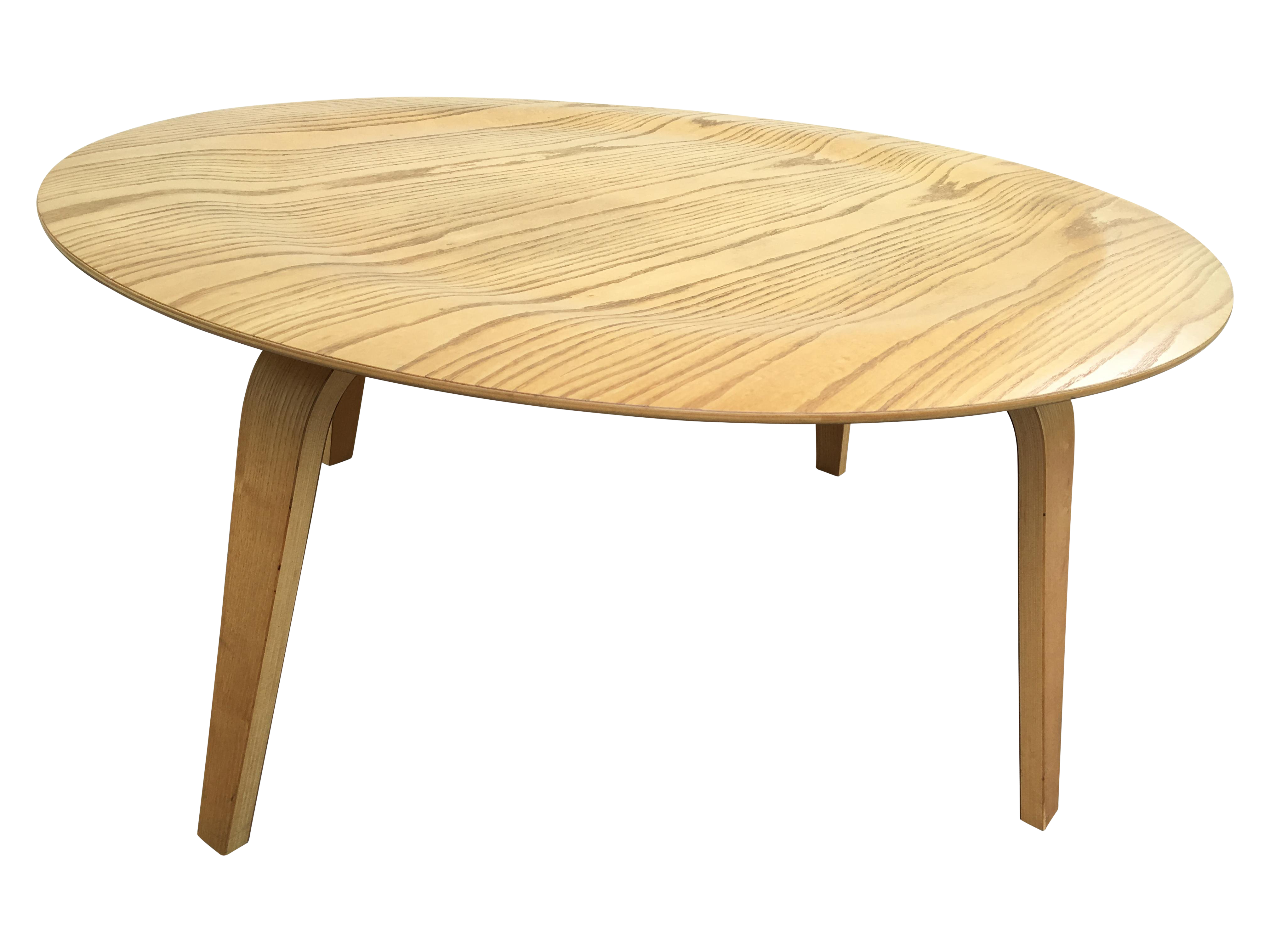 Eames Molded Plywood Coffee Table Chairish