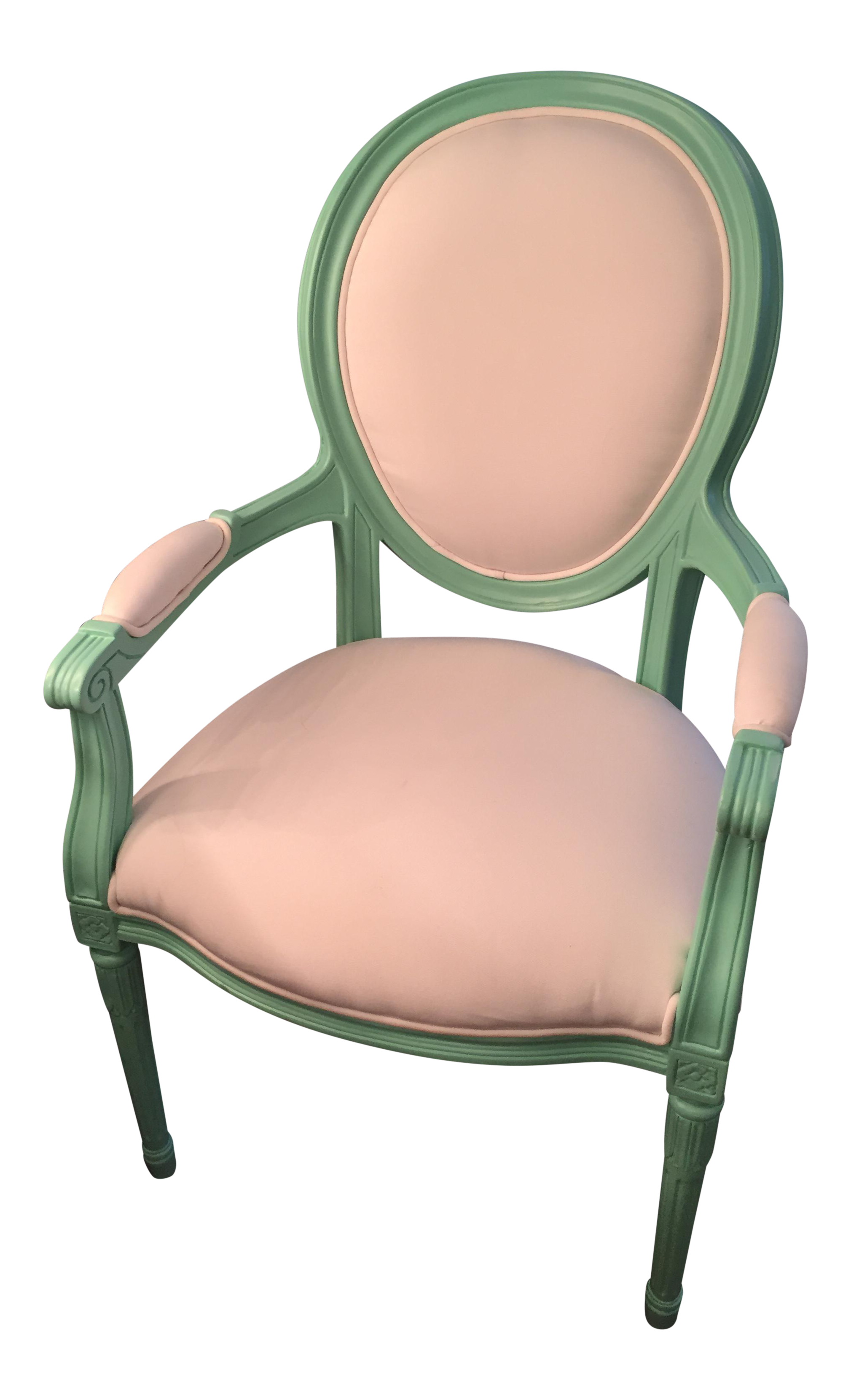 Mint Green Indoor Outdoor Louis Xvi Armchair Chairish