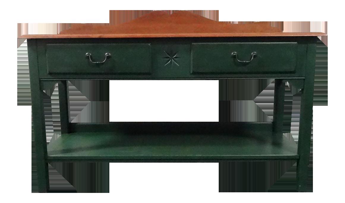 ethan allen console tables : axiomatica