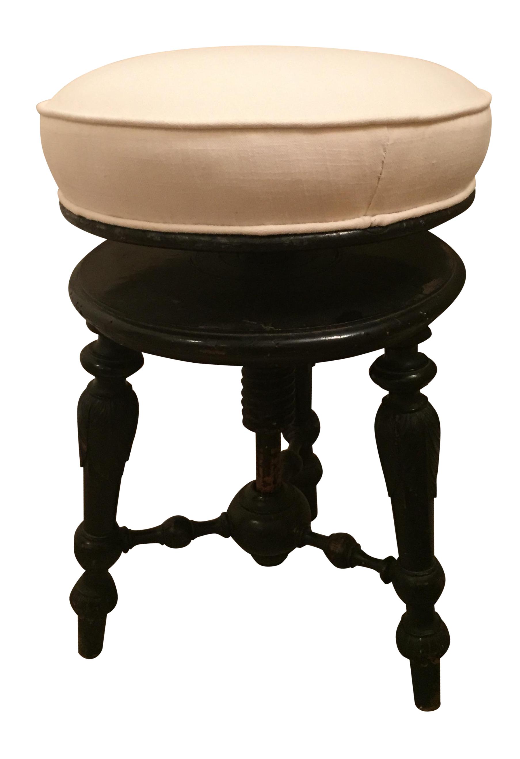 Antique Italian Piano Stool Chairish