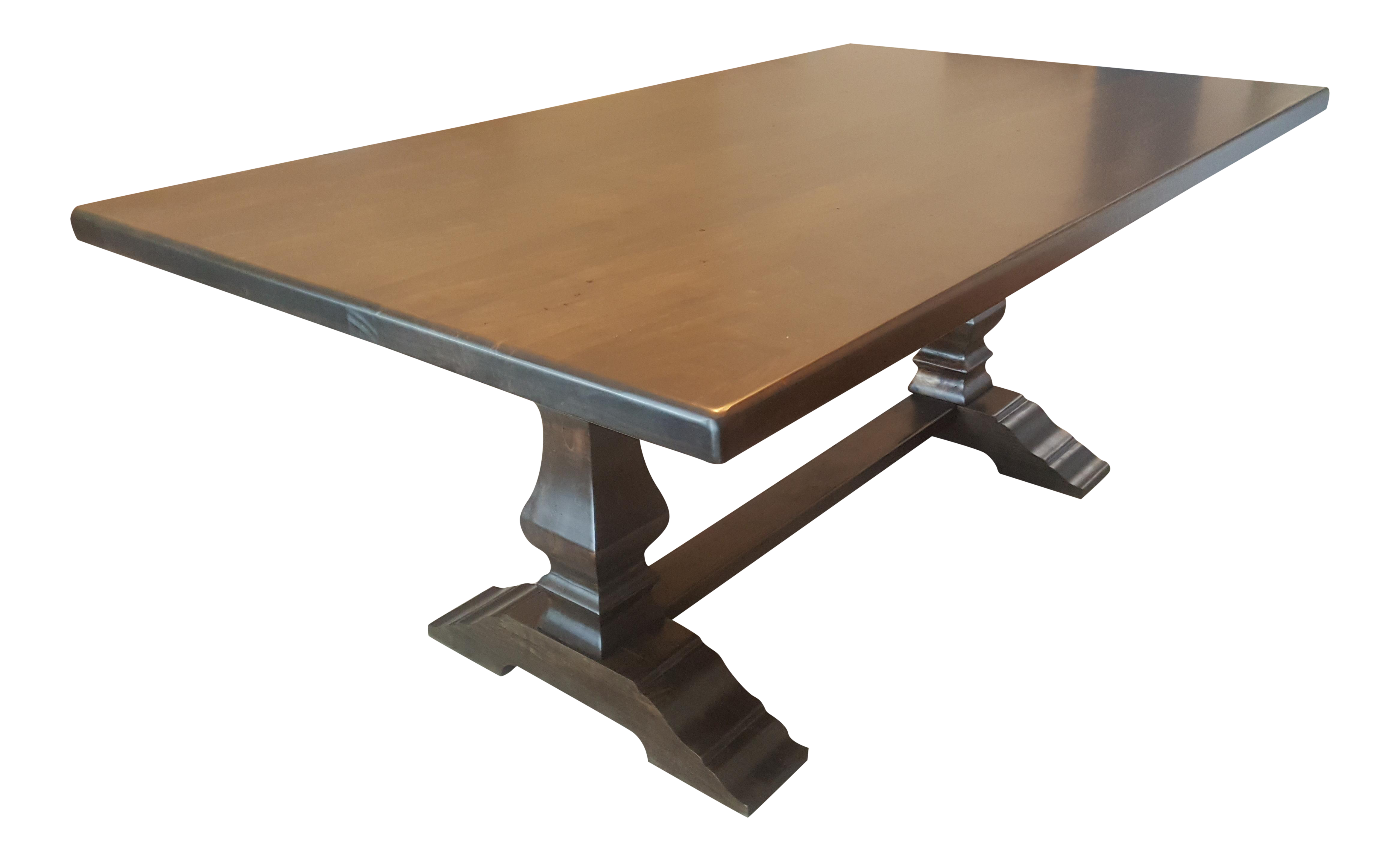 Bassett Bench Made Harvest Dining Table