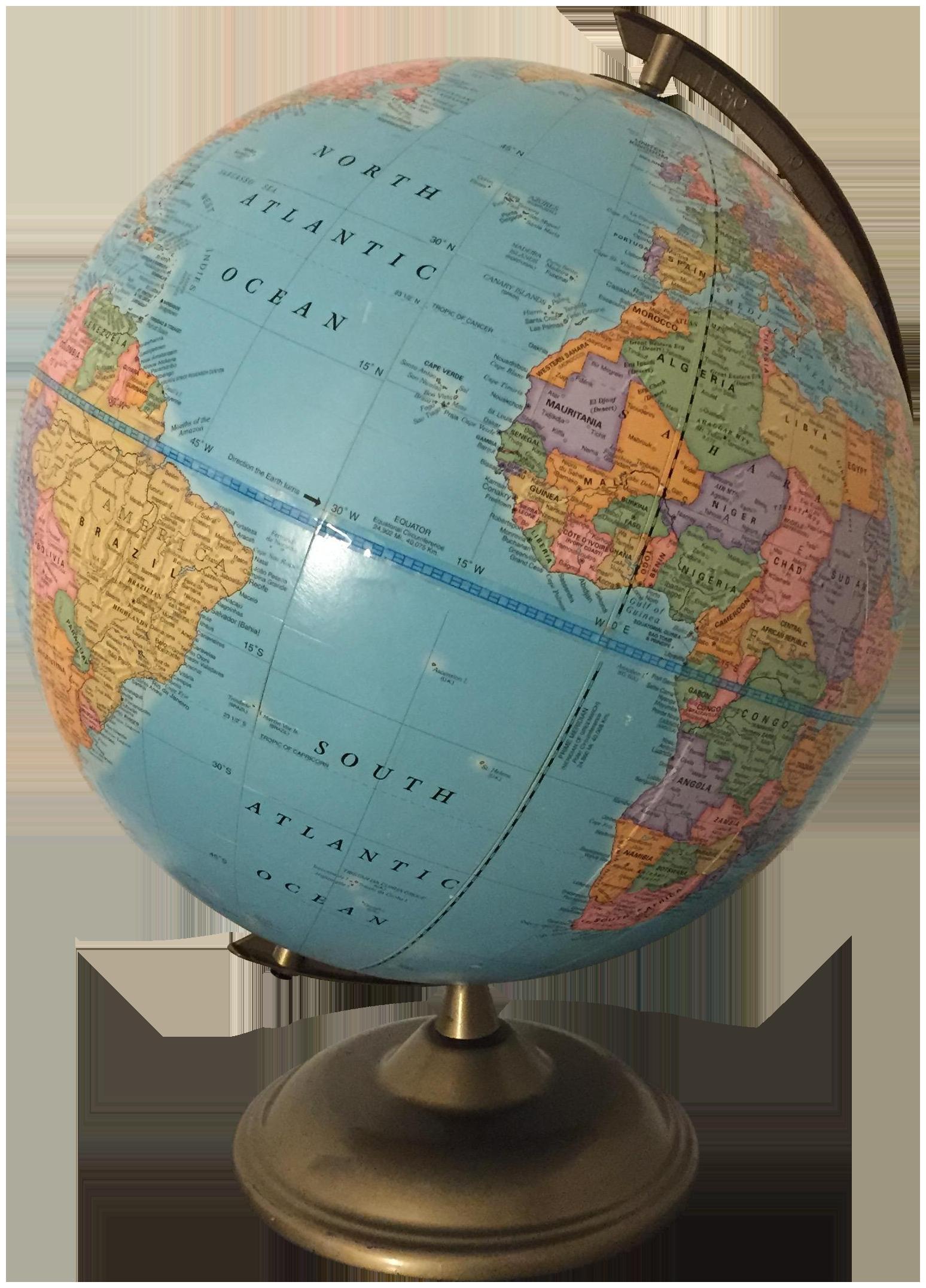 Vintage World Globe Chairish