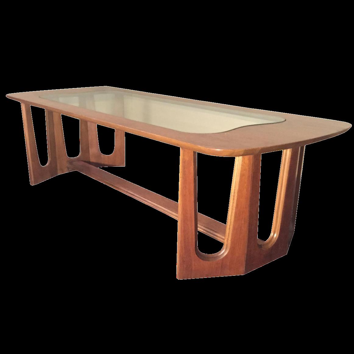 Bassett Brasilia Style Coffee Table Chairish