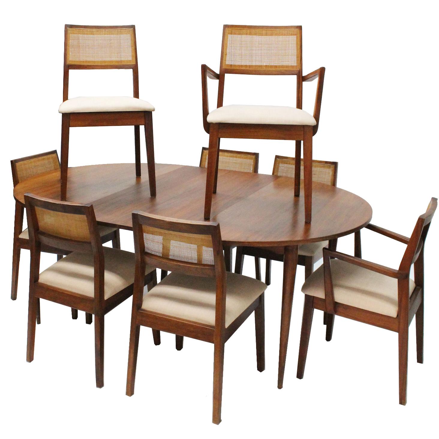 Teak Dining Room Set: Danish Teak Dining Set