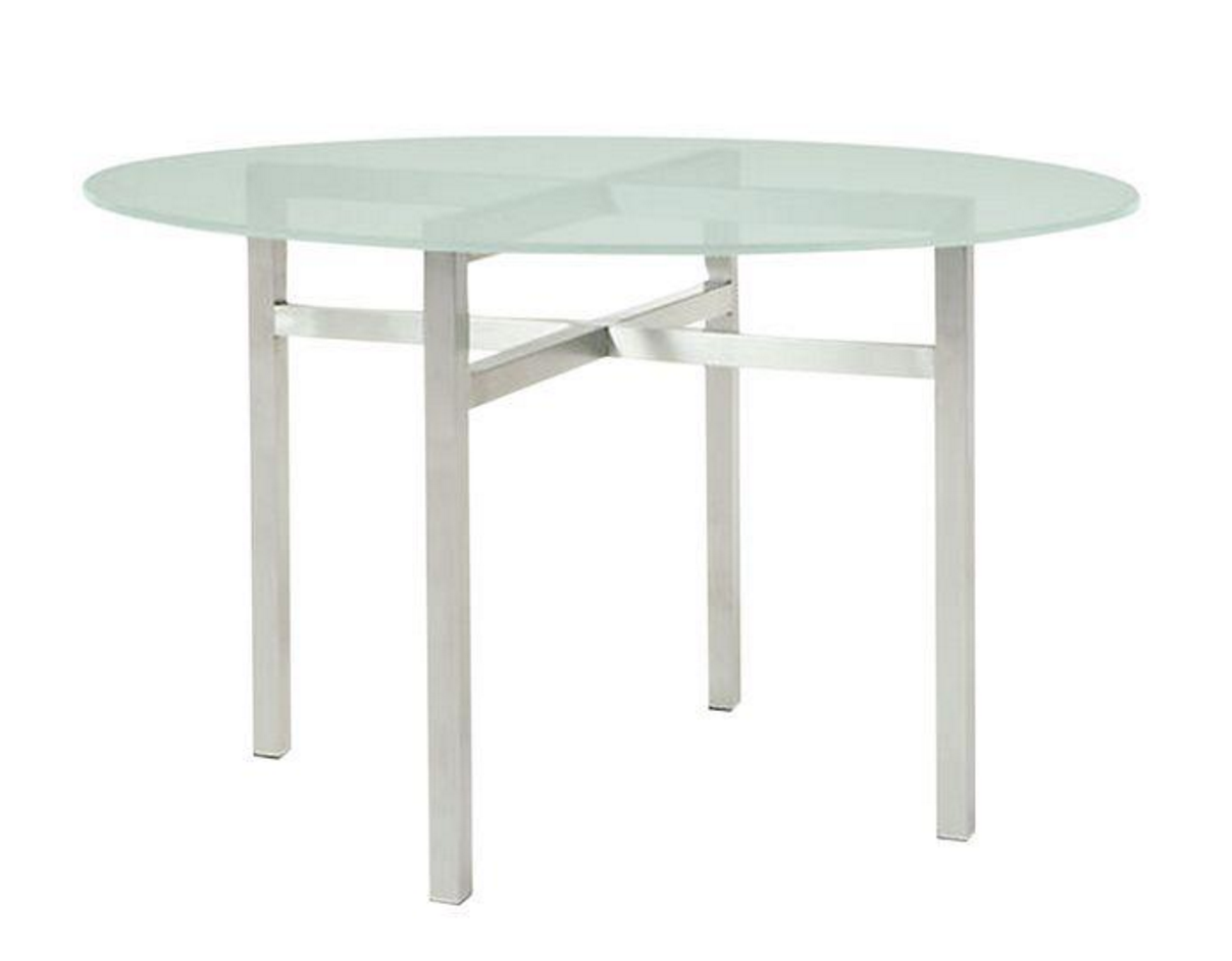 Room And Board Coffee Tables Room Board Benson Steel Glass Dining Table Chairish
