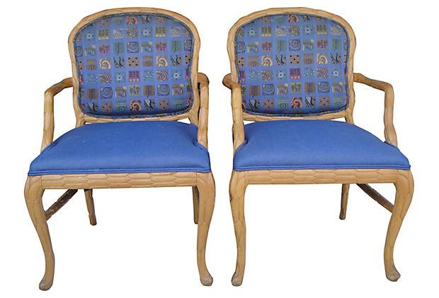 Shelby Williams Accent Dining Chairs A Pair Chairish