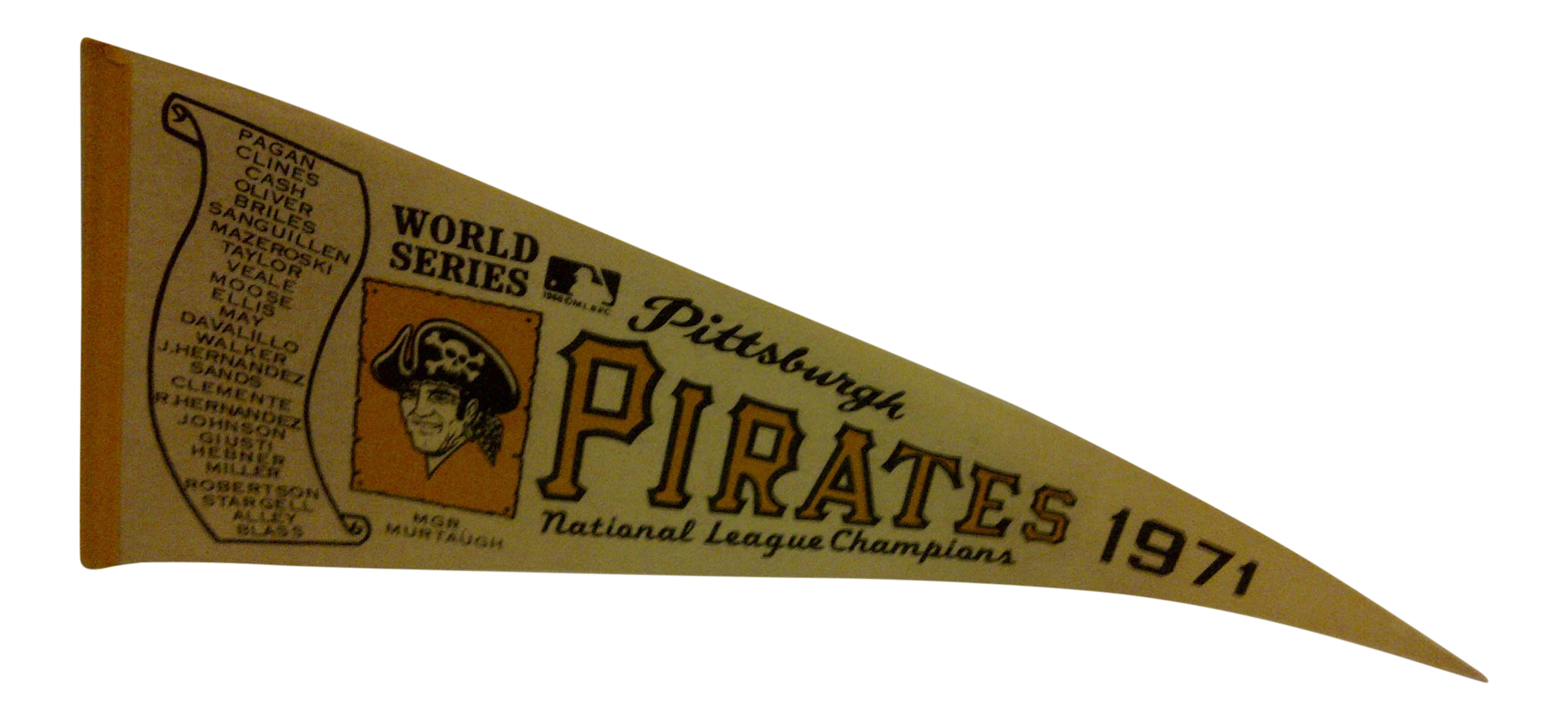 Vintage Mlb Pittsburgh Pirates 1971 National League