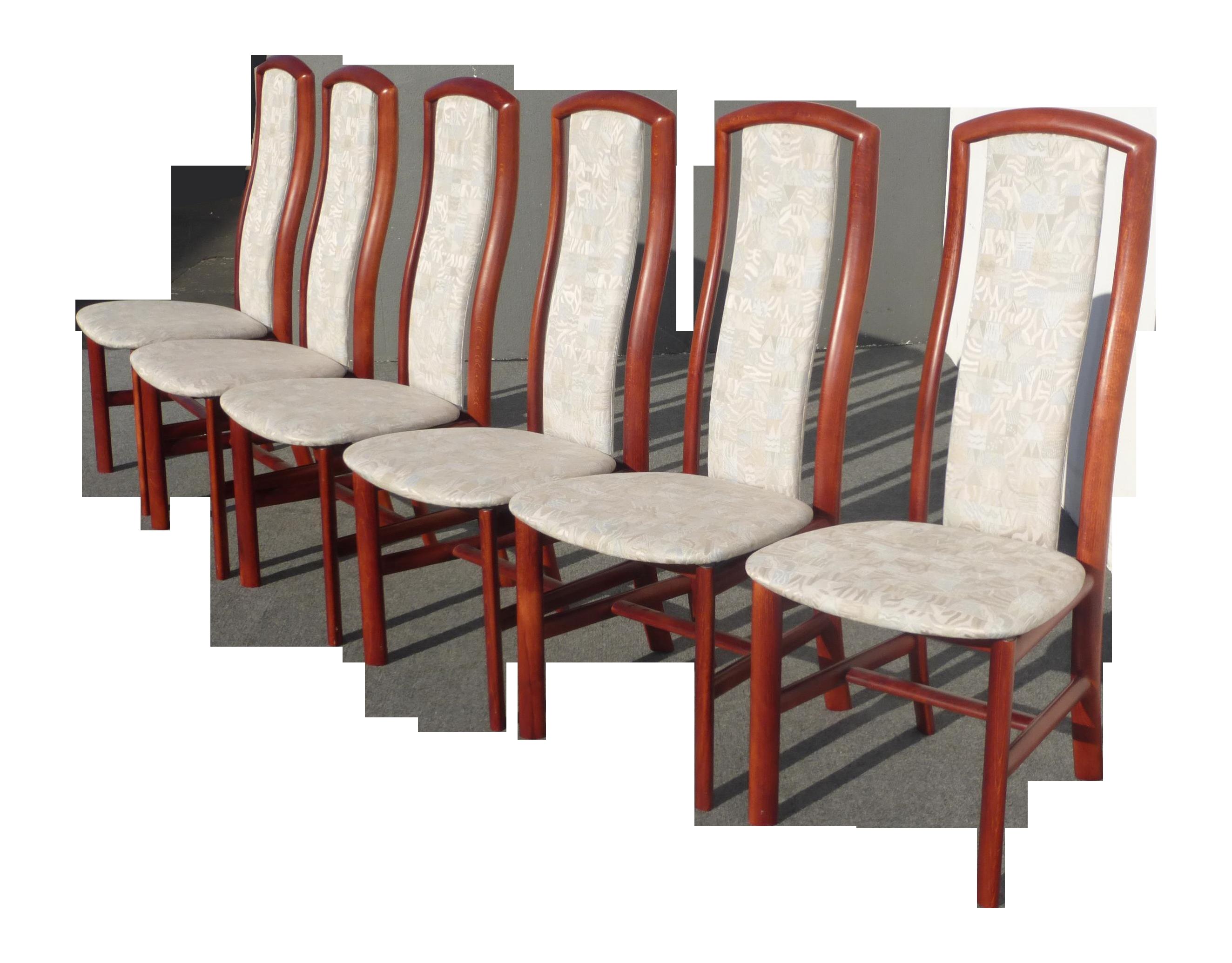 Danish Denmark Skovby Rosewood Dining Chairs  6    Chairish. Rosewood Danish Dining Table And Chairs. Home Design Ideas