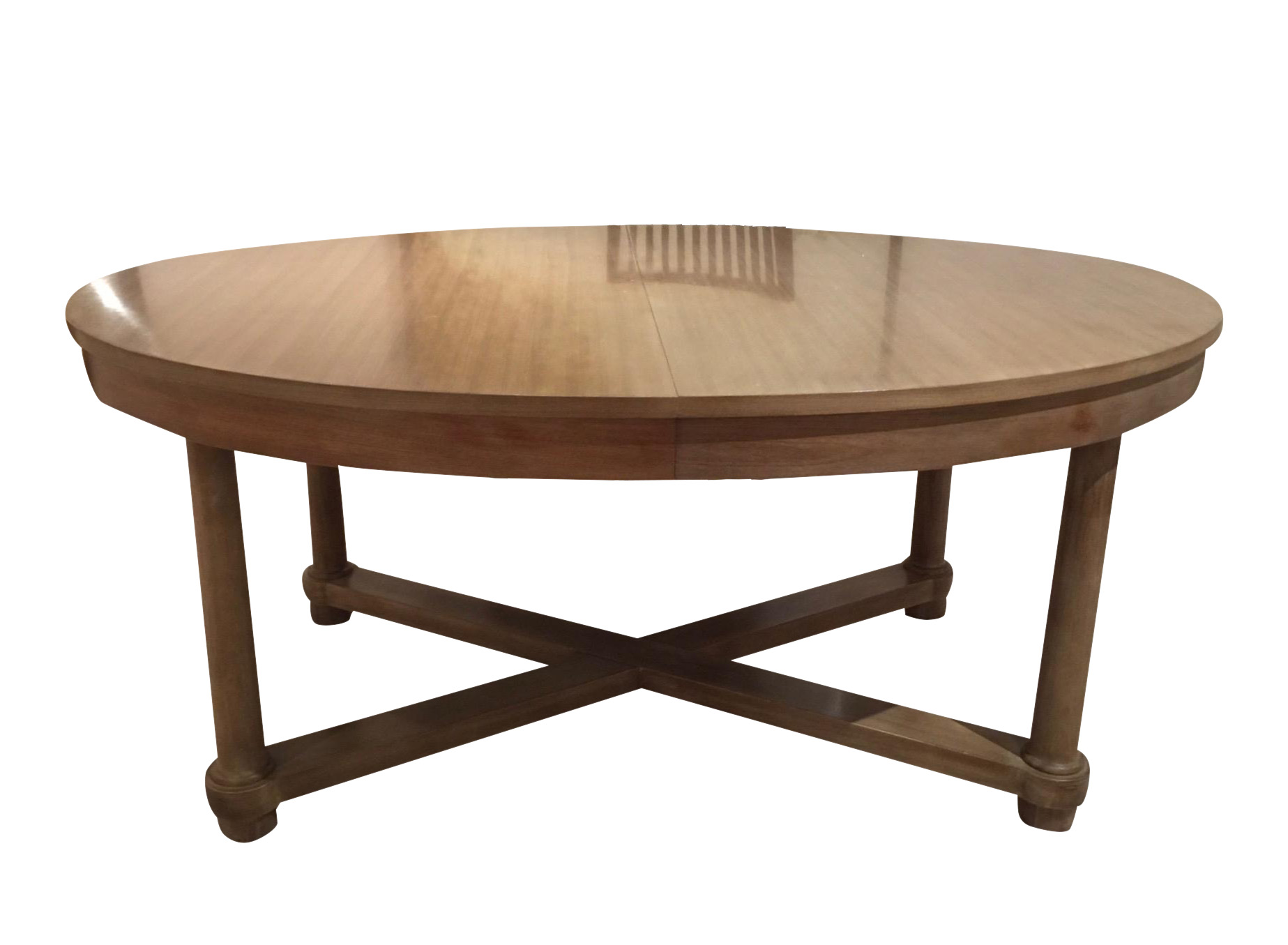 Barbara barry for baker oval dining table chairish Baker coffee table