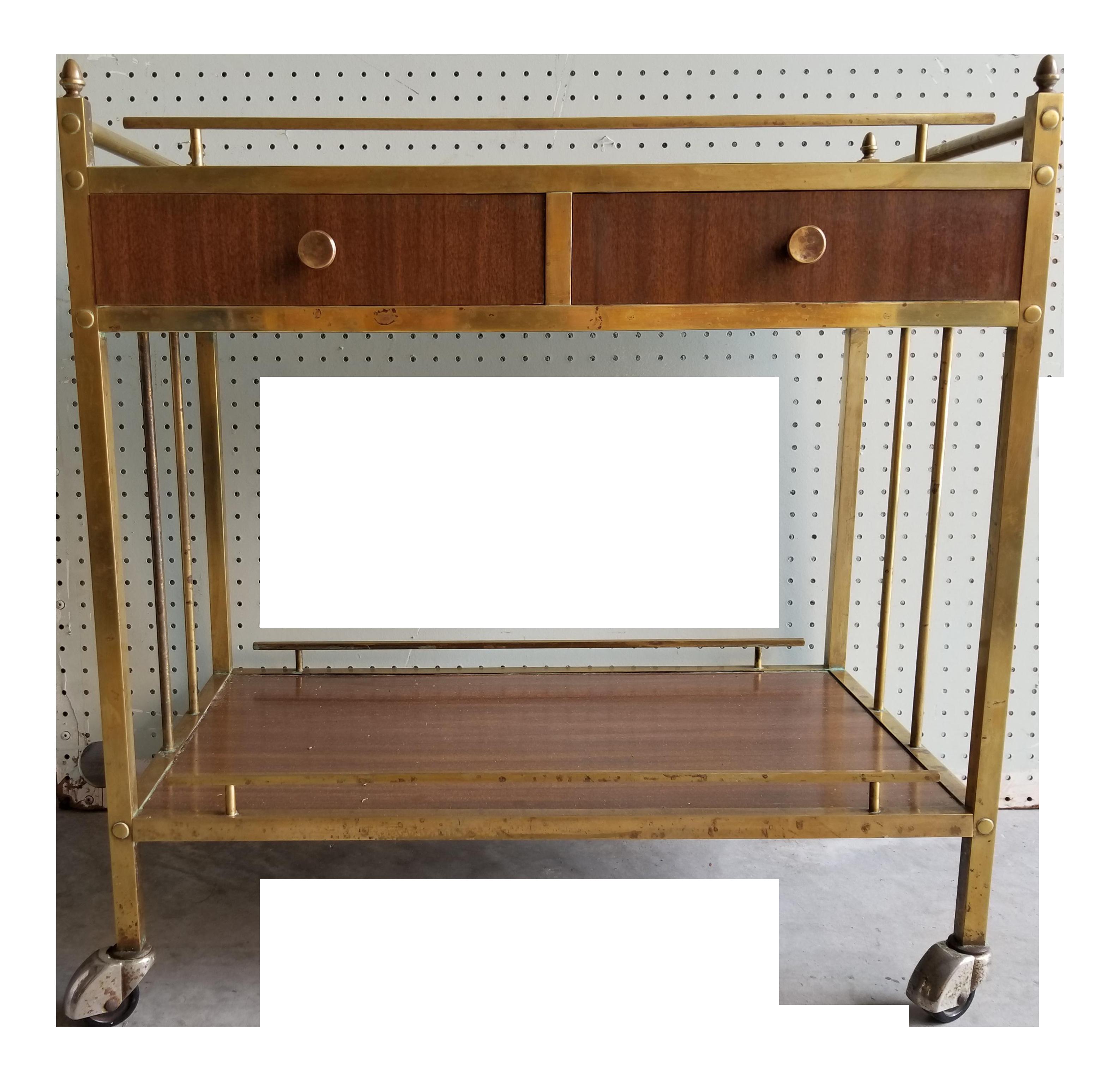 Mid Century Modern Bar Cart Chairish