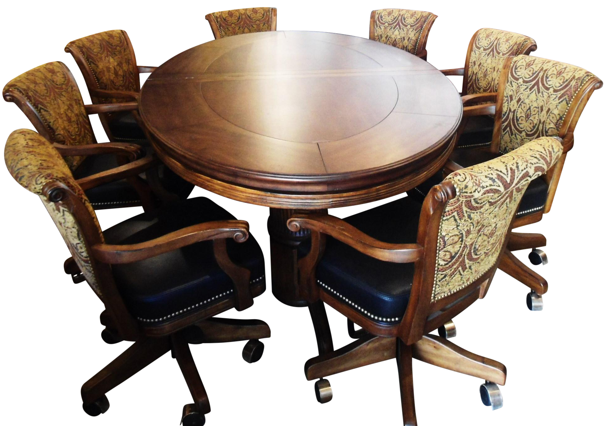 Mikhail Darafeev Game Table Dining Set Chairish