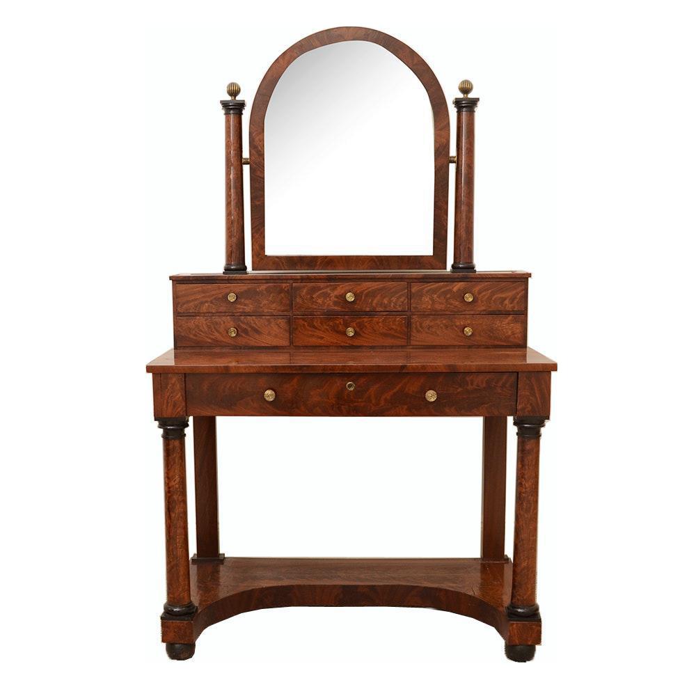 French Antique Empire to Biedermeier Transitional Dressing  : french antique empire to biedermeier transitional dressing table c 1820 6105 from www.chairish.com size 1000 x 1000 png 454kB