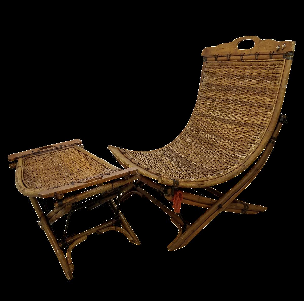 Vintage rattan chair - Vintage Rattan Chair 5