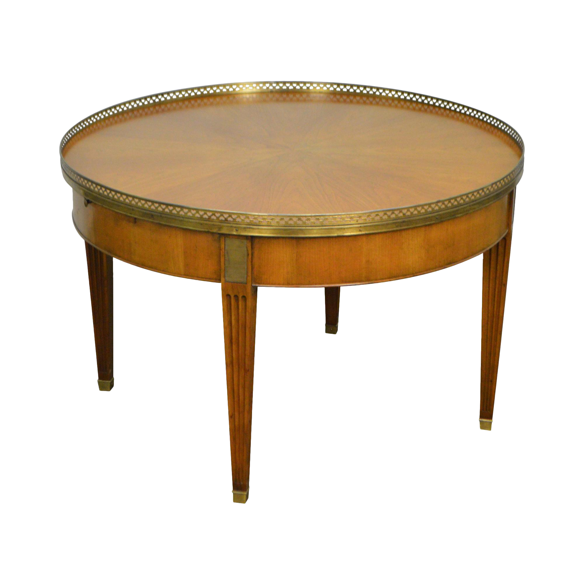 Baker Vintage Regency Directoire Style Round Coffee Bouillotte