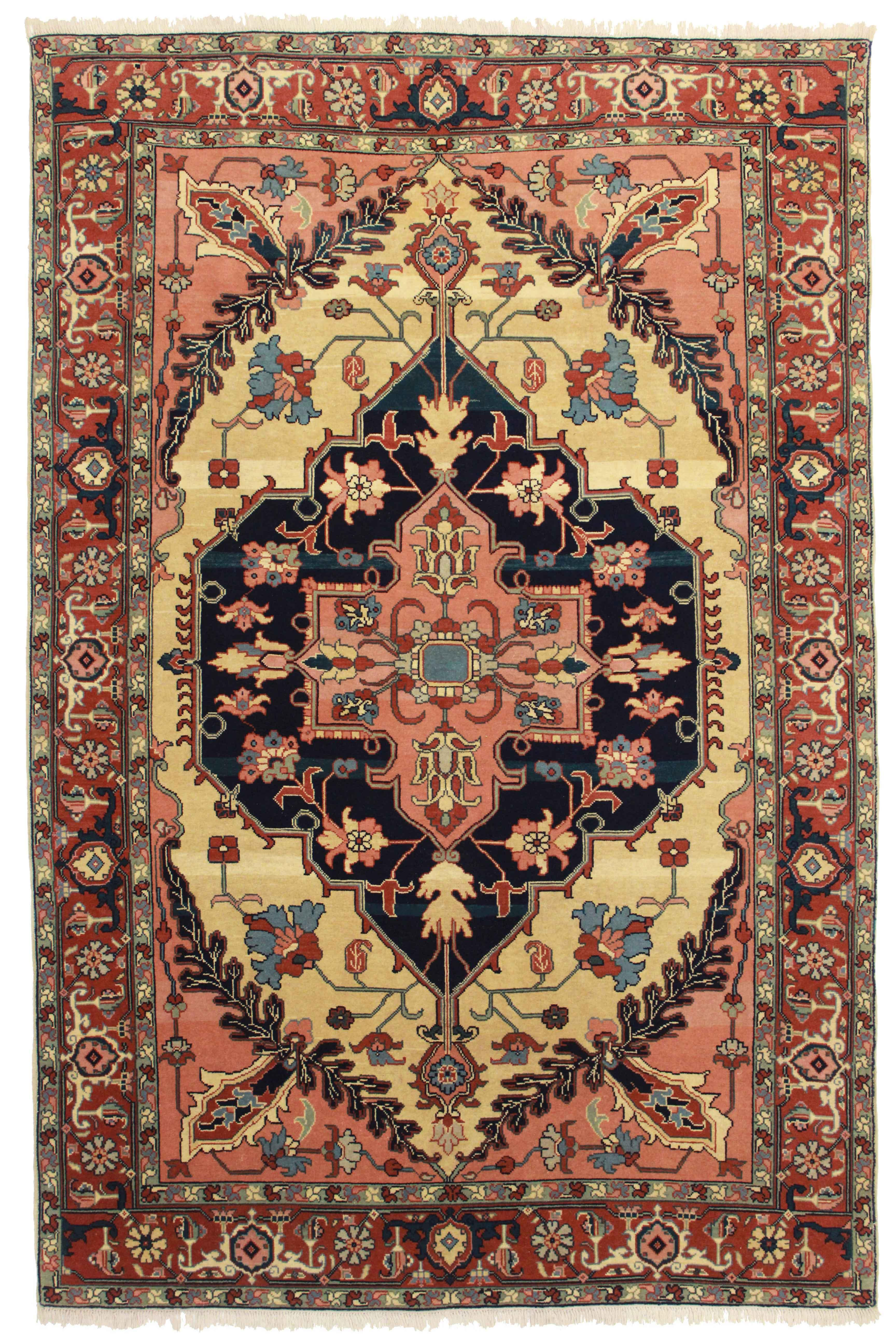 Rugsindallas Hand Knotted Wool Persian Serapi Style