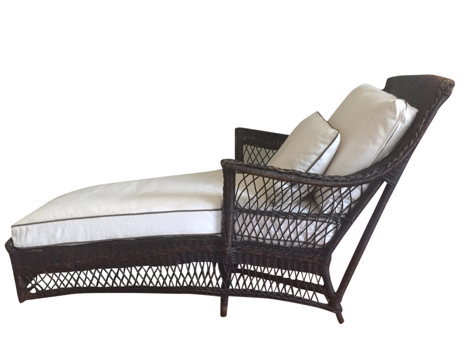 1890 39 s american chaise longue chairish for Chaise longue northern ireland