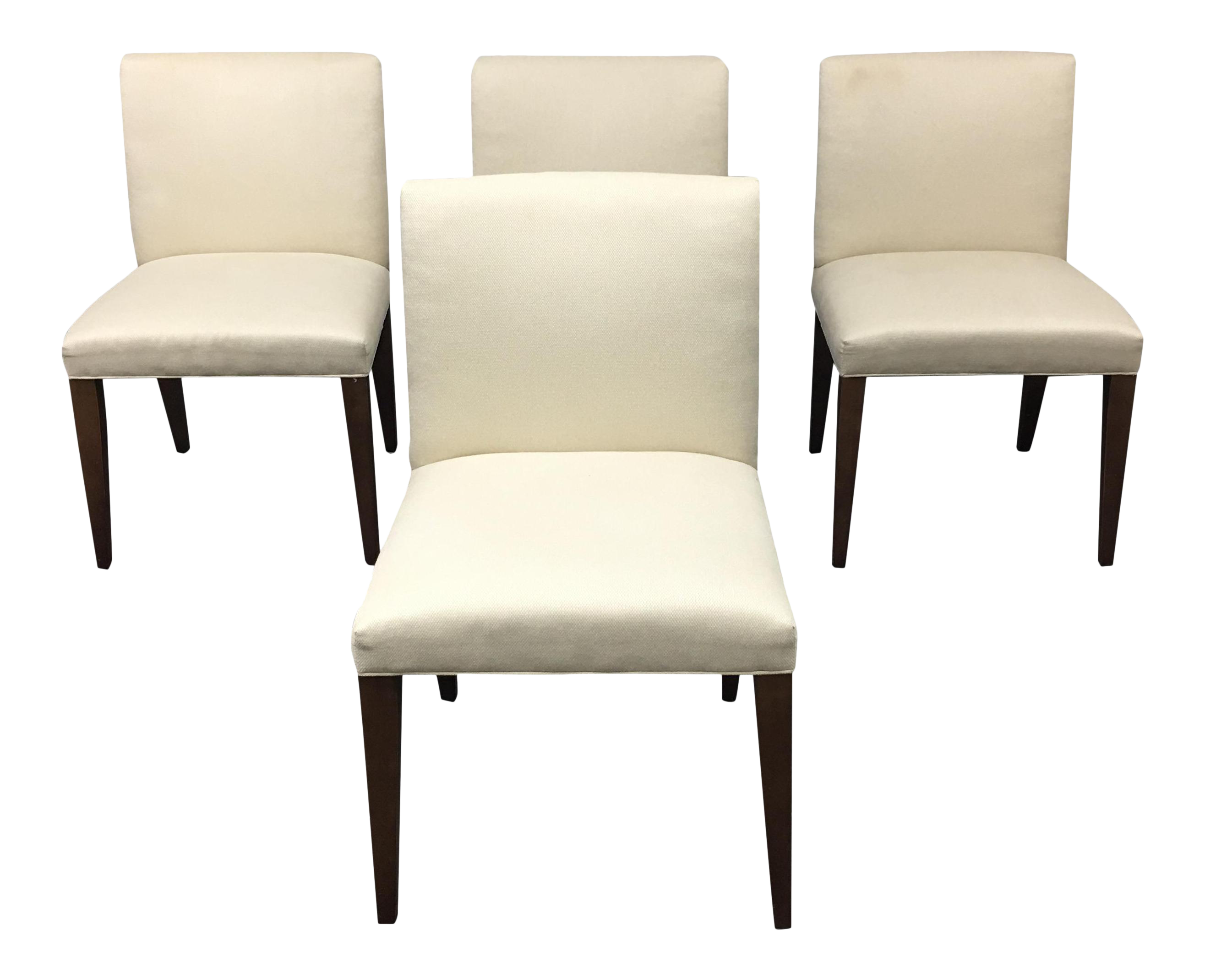 Room & Board Marie White Dining Chairs Set of 4