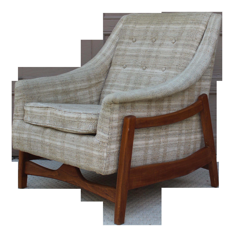 Mid Century Paoli Rocking Lounge Chair