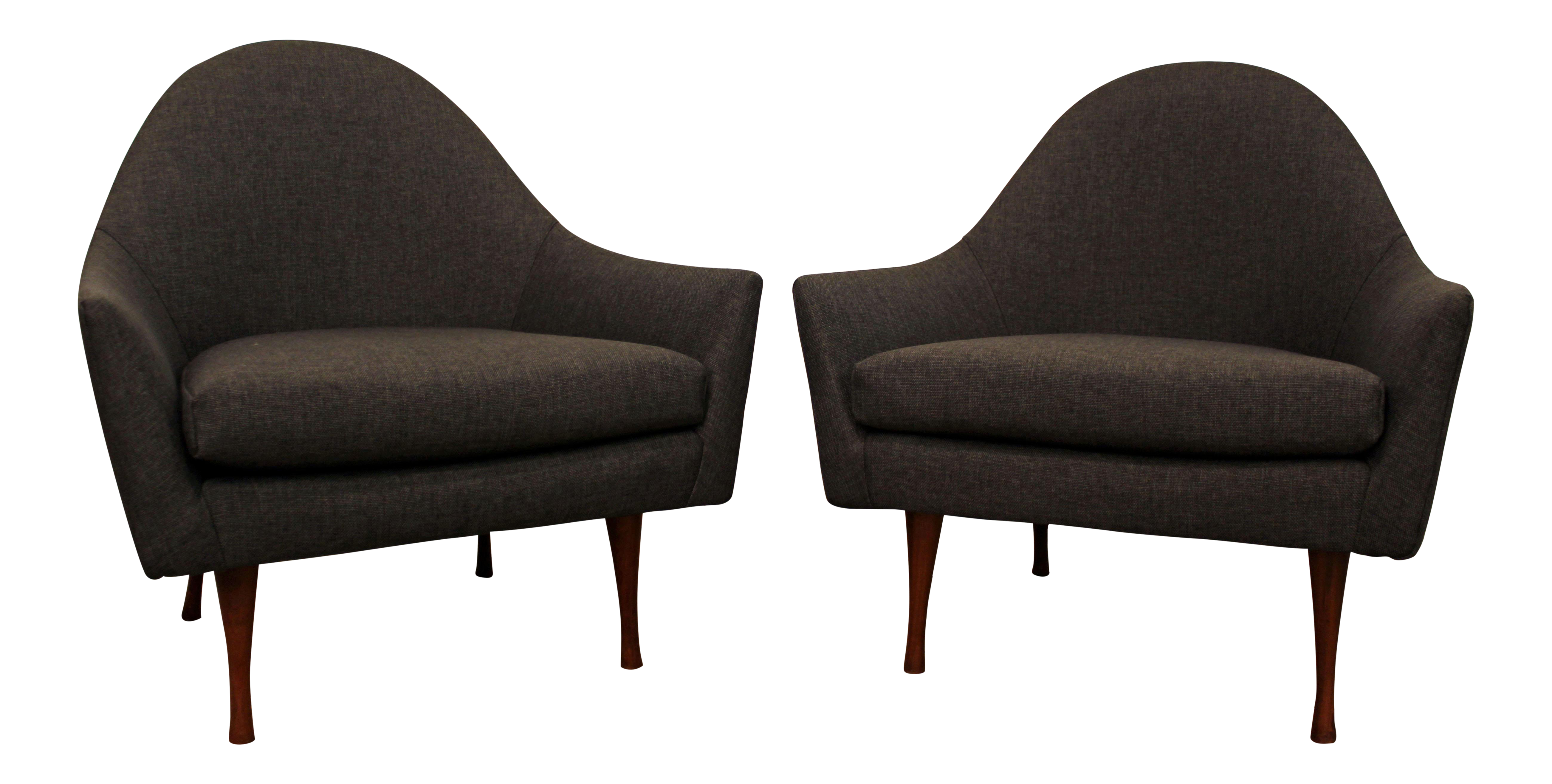 Paul McCobb Symmetric Group Mid Century Modern Lounge Chairs A