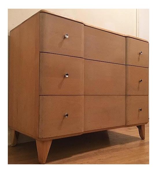 Elegant Heywood Wakefield Lowboy Dresser From The Rio Line