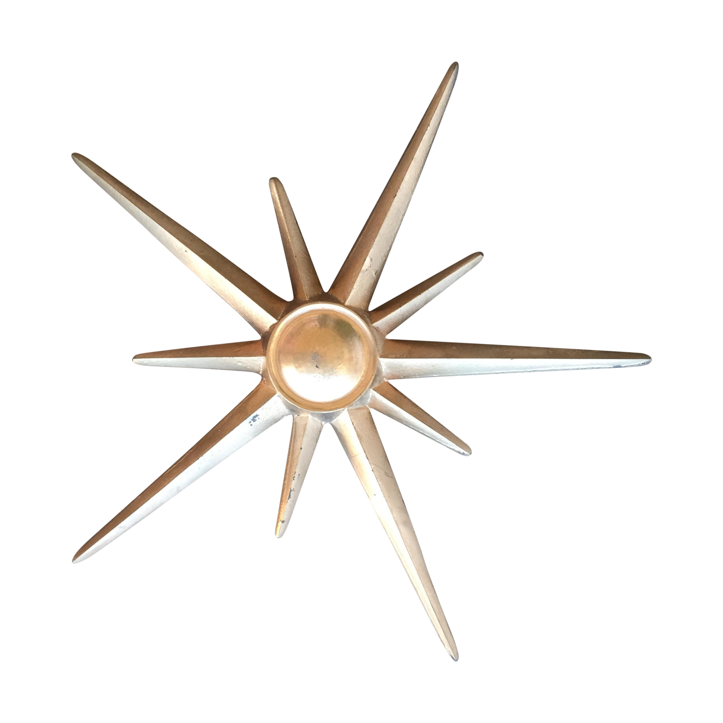 Metal Star Wall Decor Mid Century Modern Atomic Star Wall Decor Chairish
