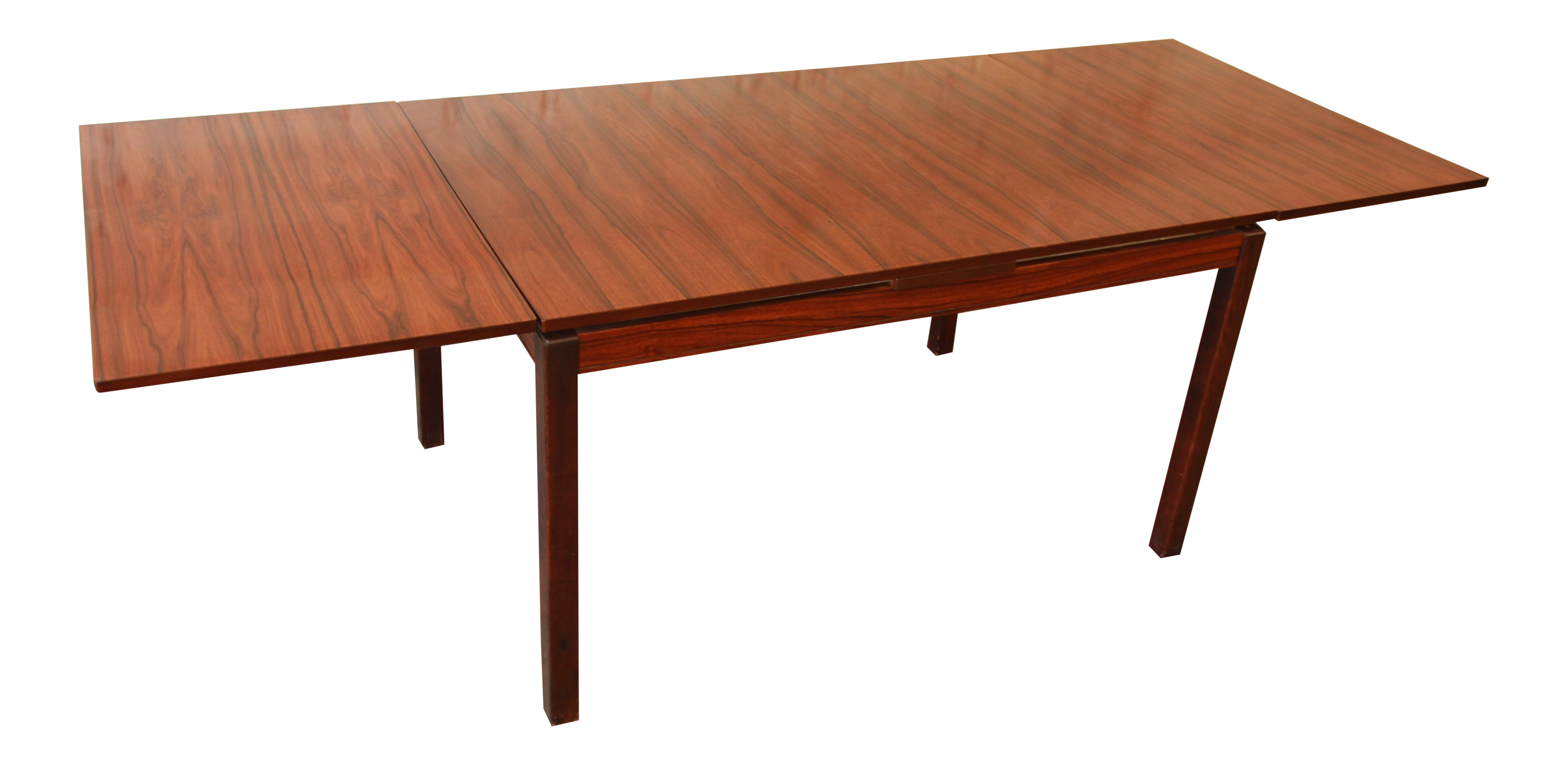 Norwegian Rosewood Dining Table by Heggen