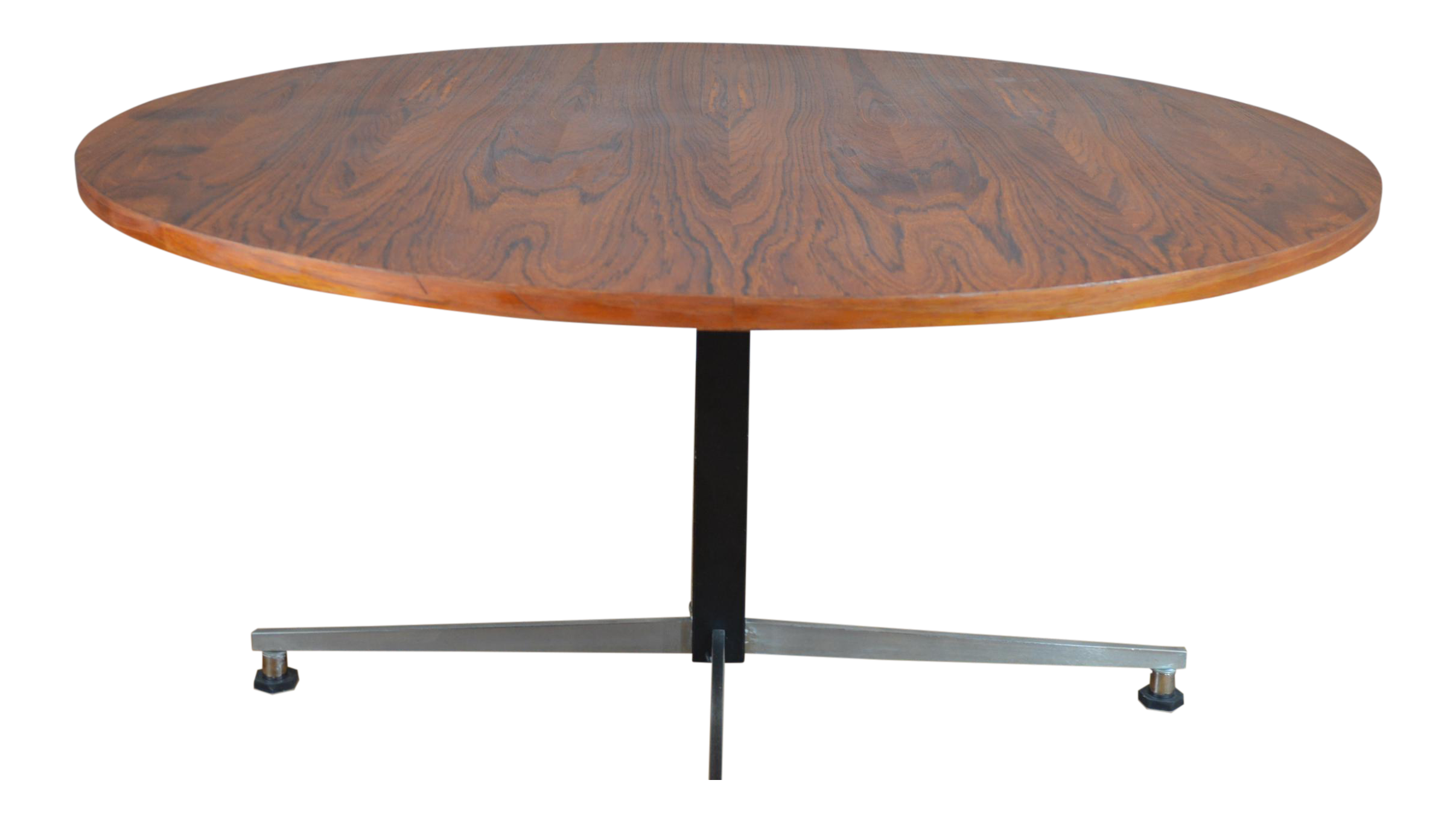 Mid century german teak adjustable coffee cafe table for Cafe coffee table