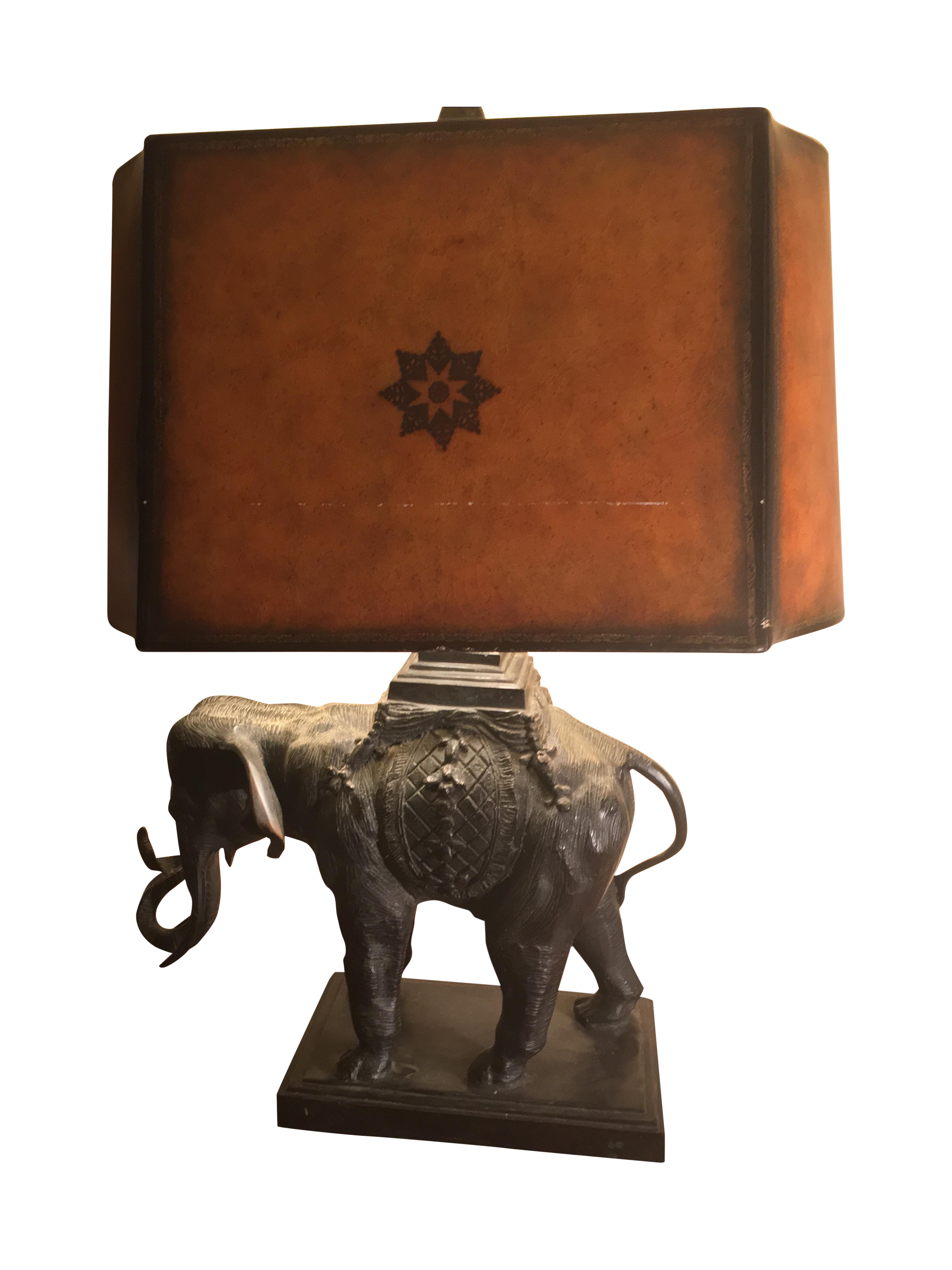 Maitland Smith Elephant Table Lamp Chairish