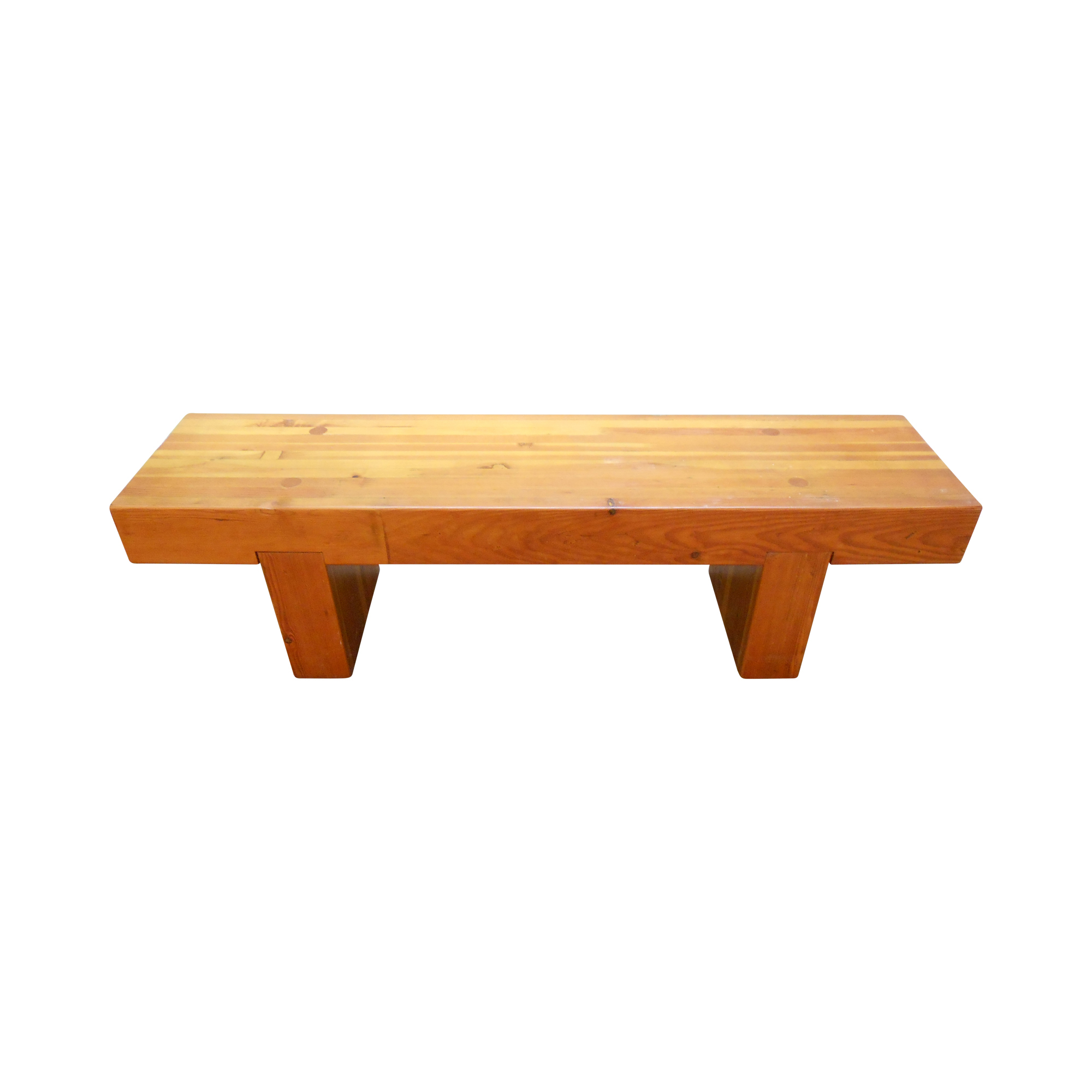 Midcentury Studio Butcher Block Coffee Table