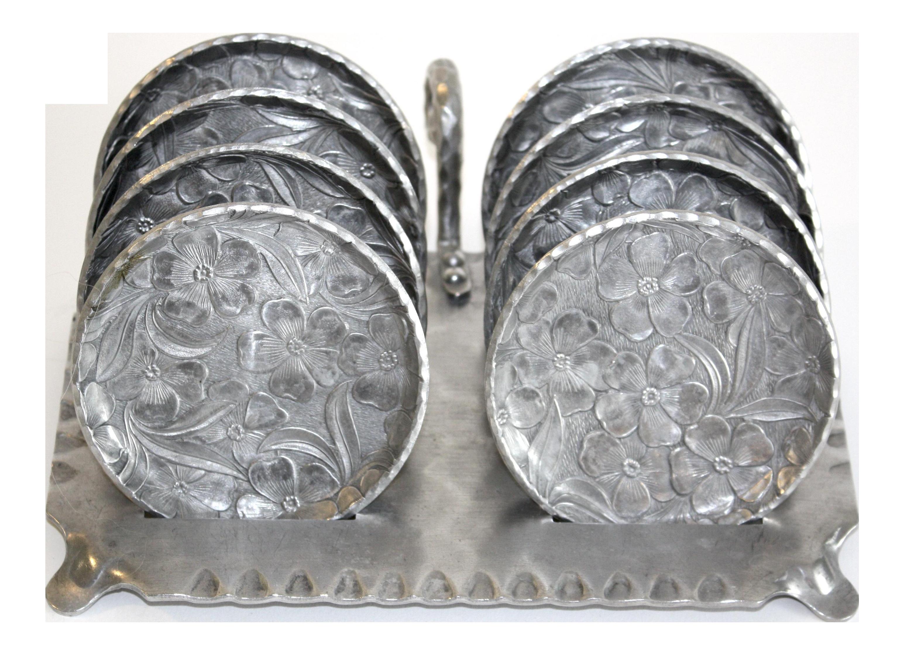 Mid Century Modern Coasters Set Of 9 Chairish