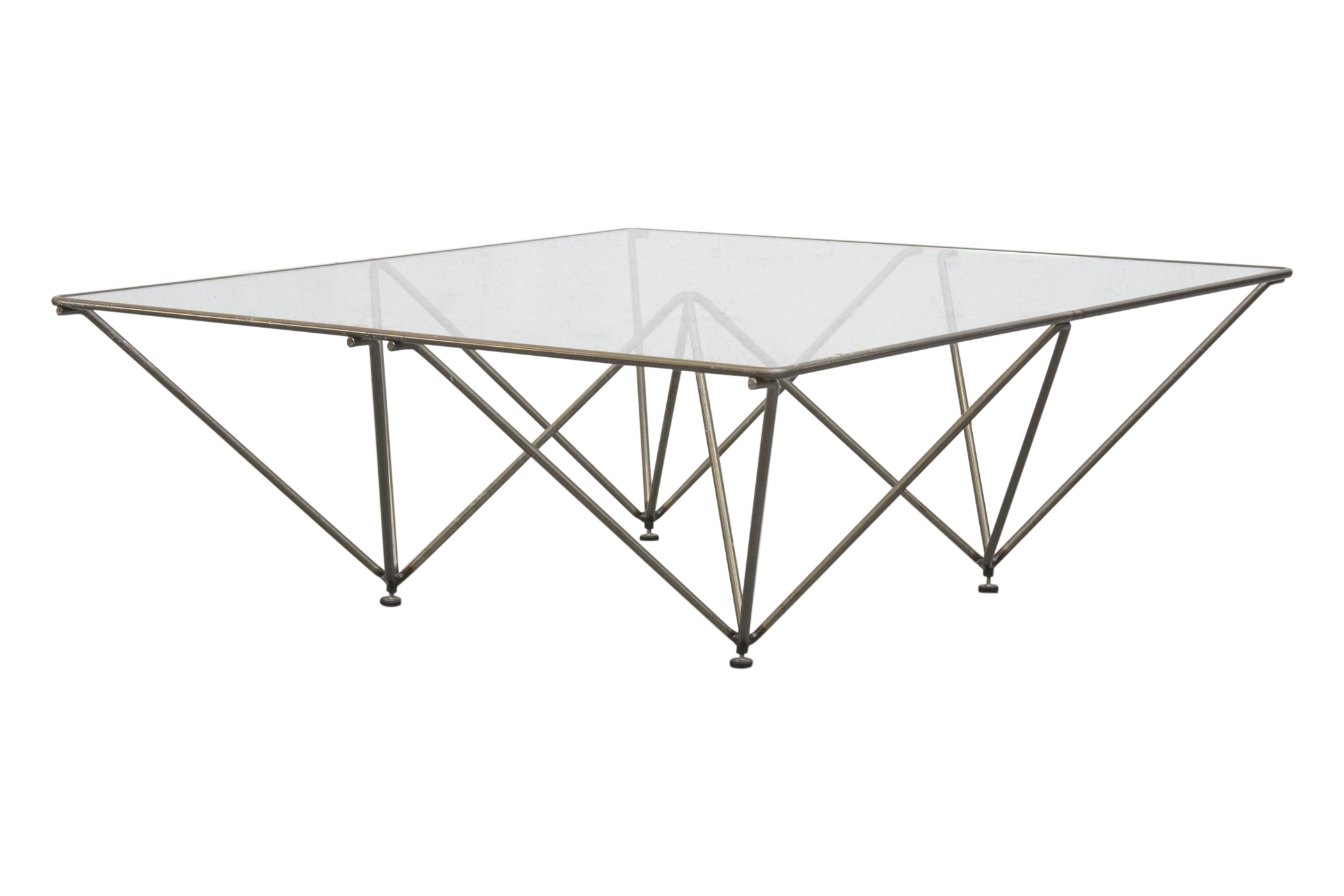 """Paolo Piva Style """"Alanda"""" Pyramid Table"""
