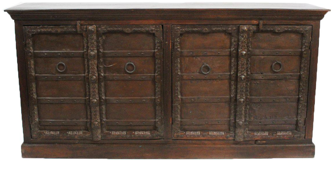 Indian door sideboard chairish for Sideboard indien
