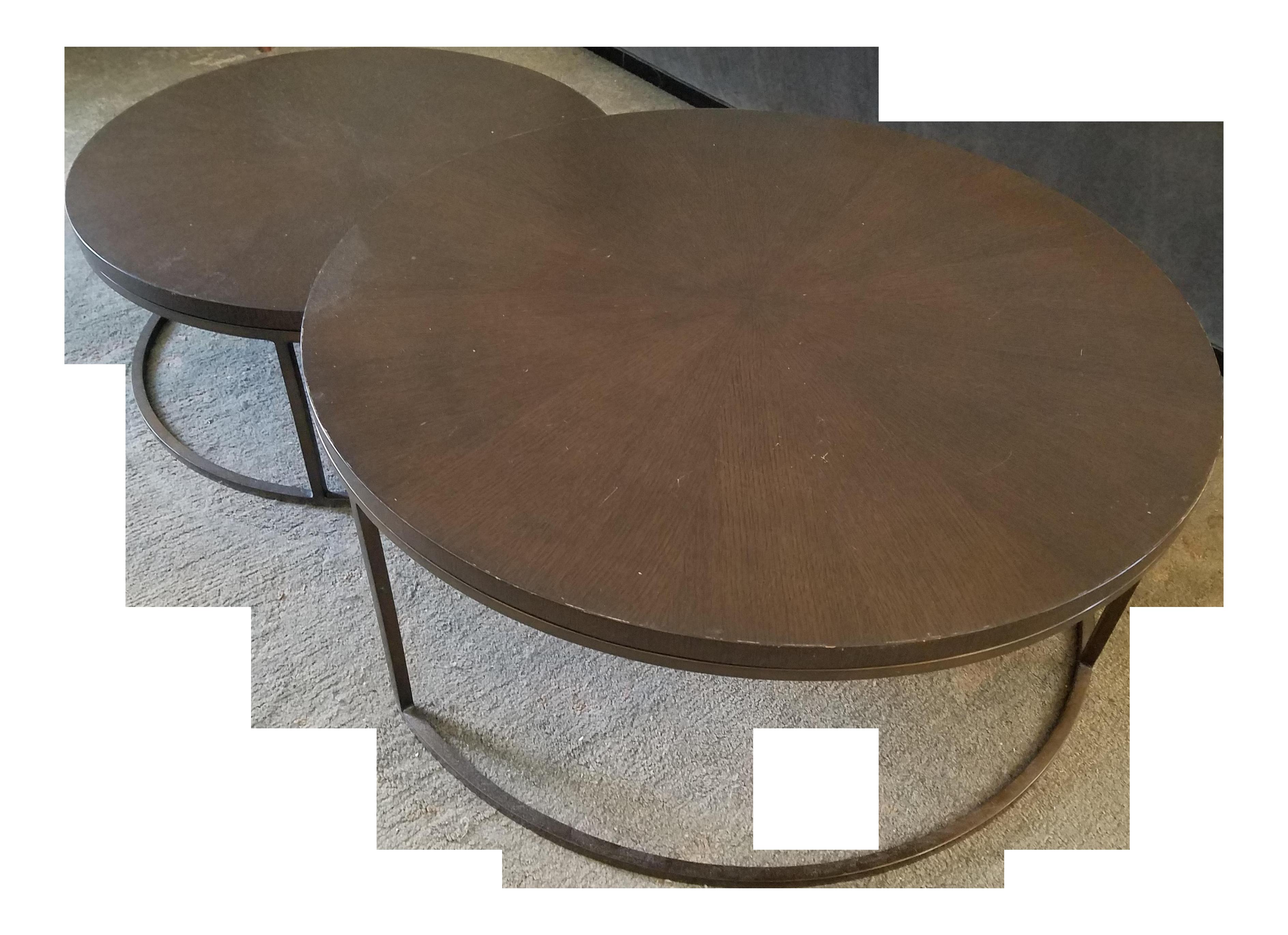 "Mitchell Gold Bob Williams ""Bassey"" Nesting Coffee Tables"
