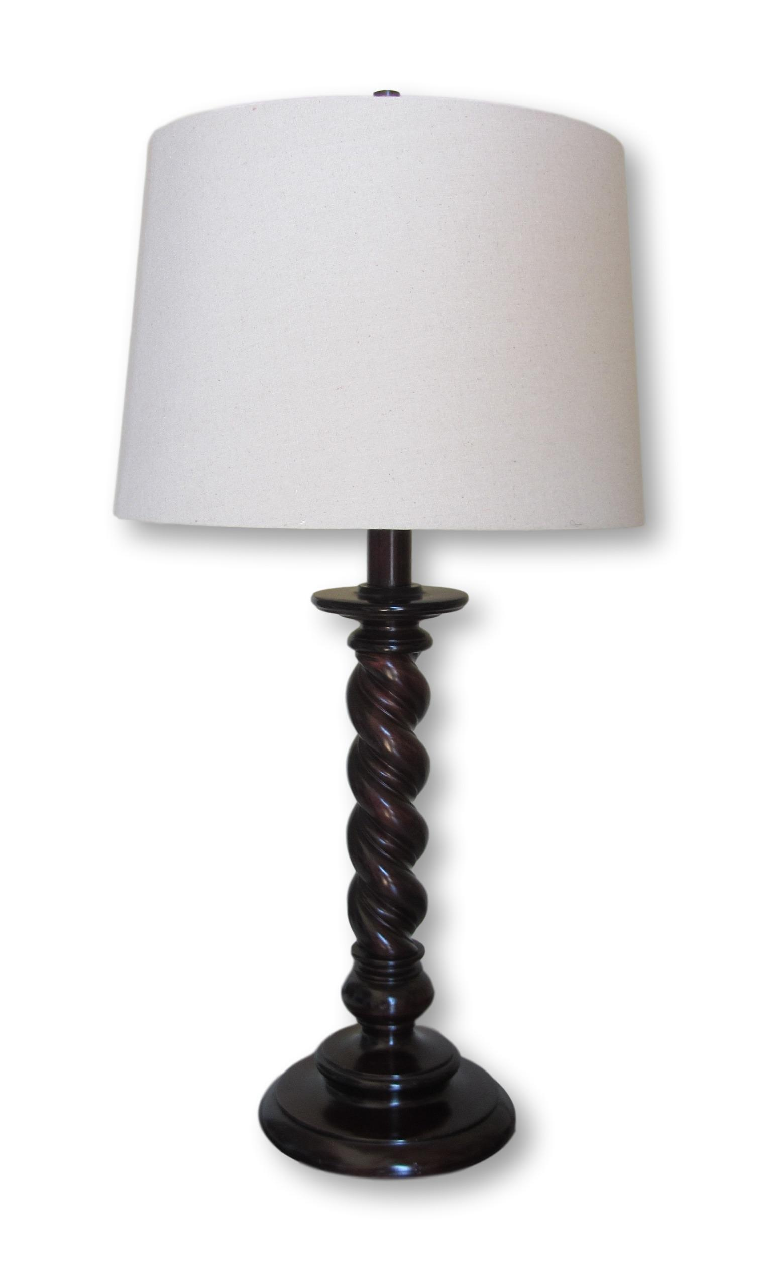 Restoration Hardware Barley Twist Table Lamp