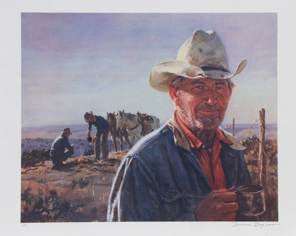 Duane Bryers Quot Middle Of Nowhere Quot Lithograph Chairish