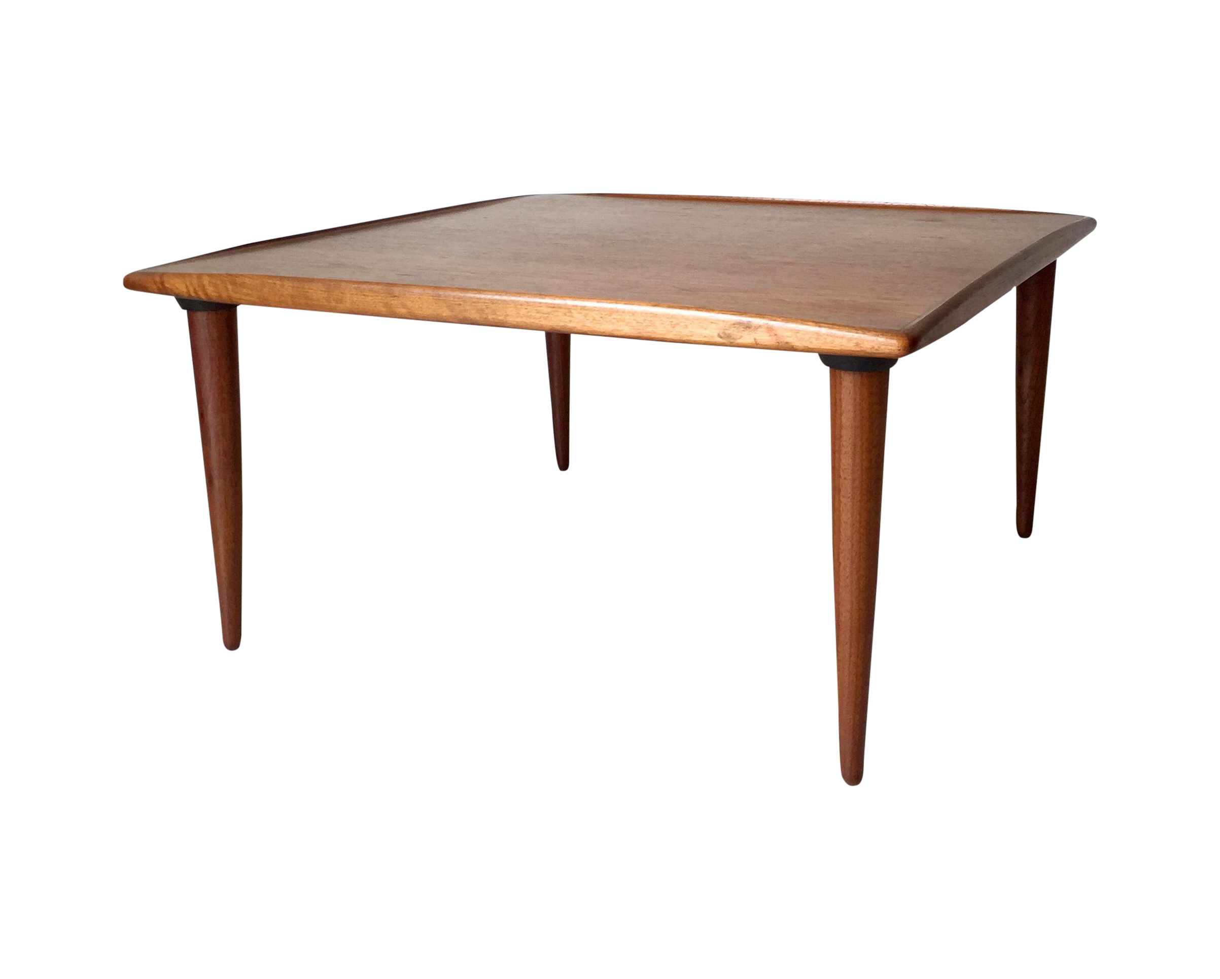 danish teak juhl jalk style moreddi coffee table chairish