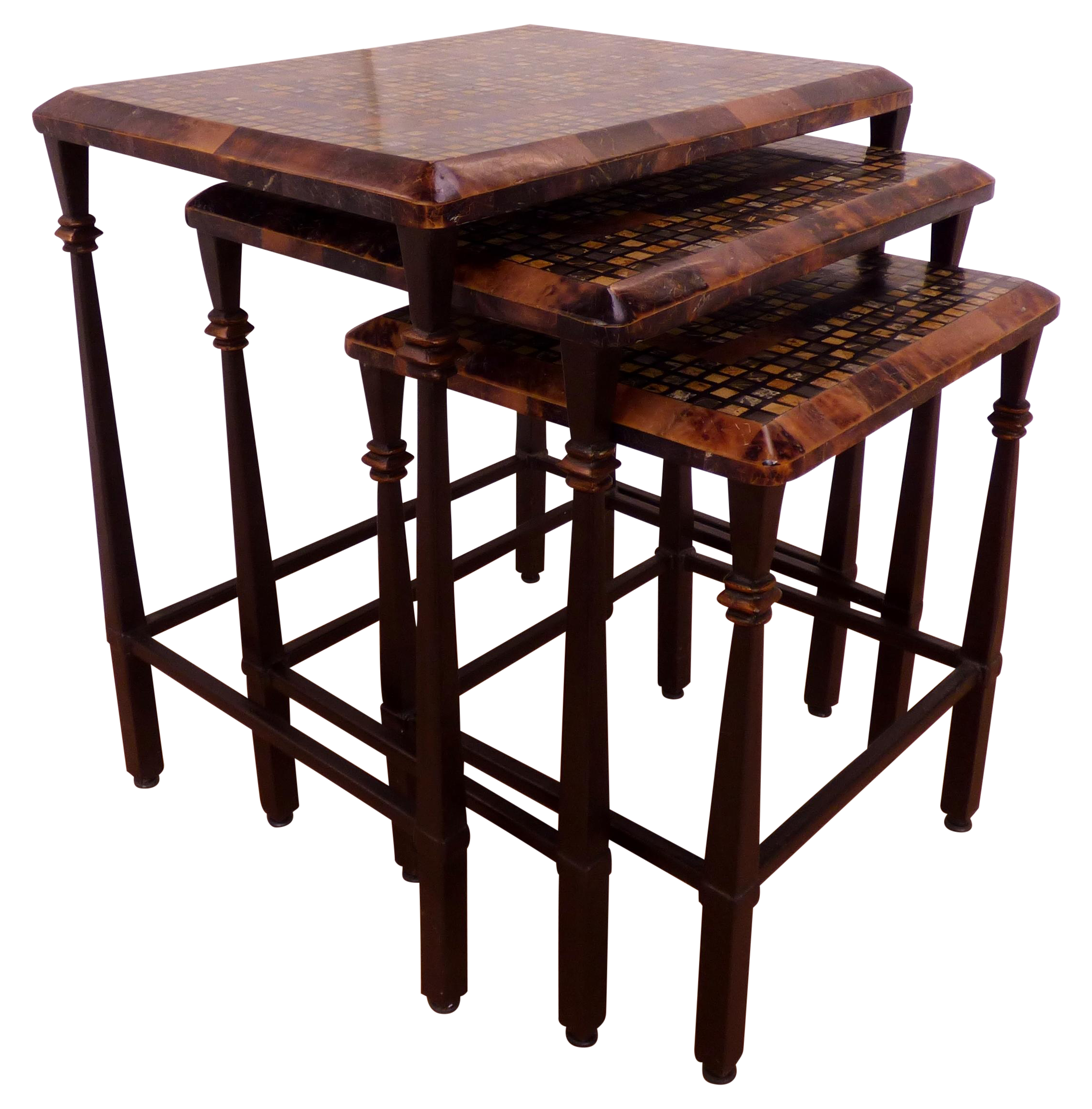 Hooker Furniture Nesting Table With Faux Marble Chairish. Full resolution  image, nominally Width 2268 Height 2304 pixels, image with #230E0C.
