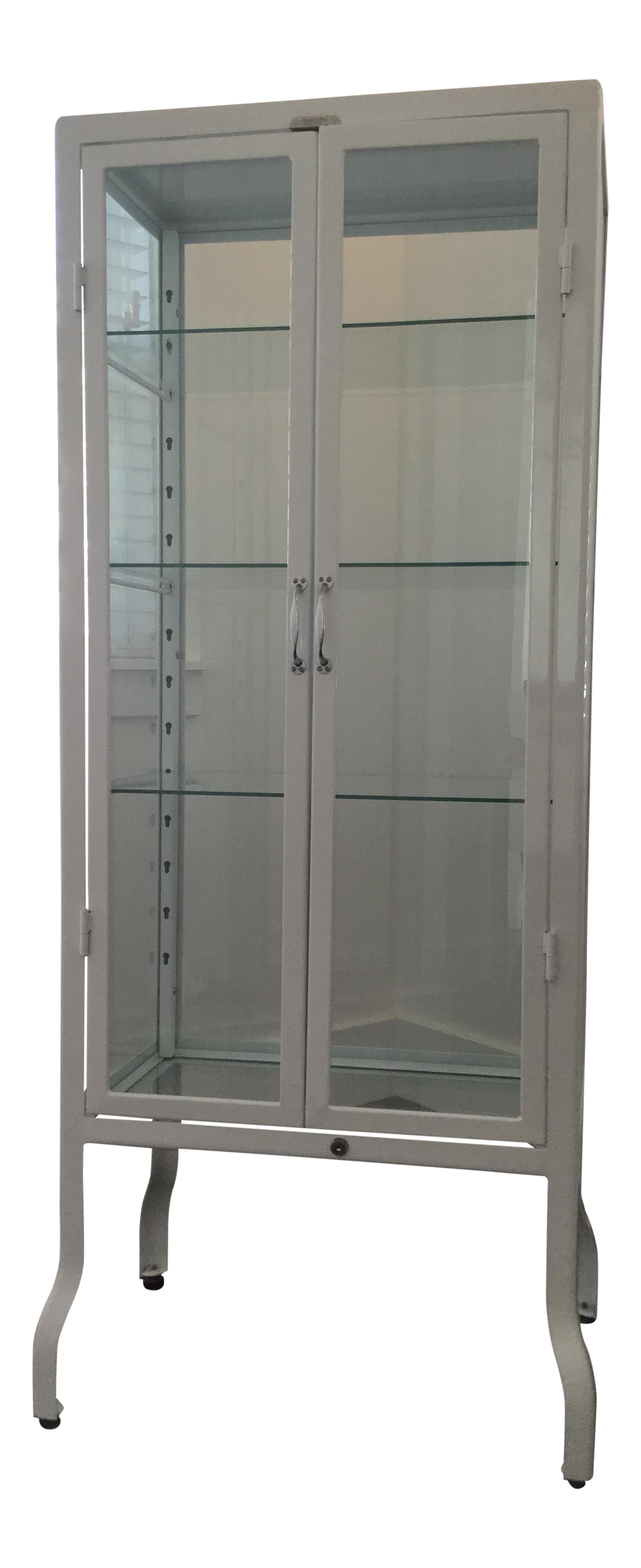 Restoration hardware pharmacy bath cabinet chairish for Restoration hardware bathroom cabinets