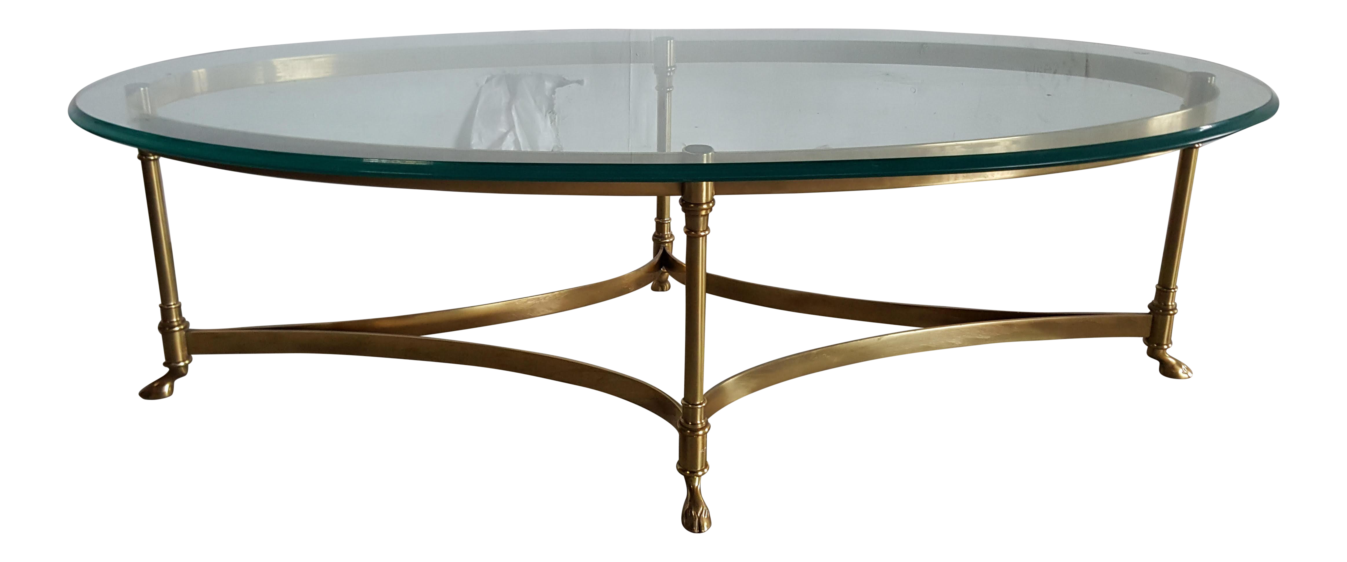 Image Of Vintage Labarge Coffee Table Made In Italy