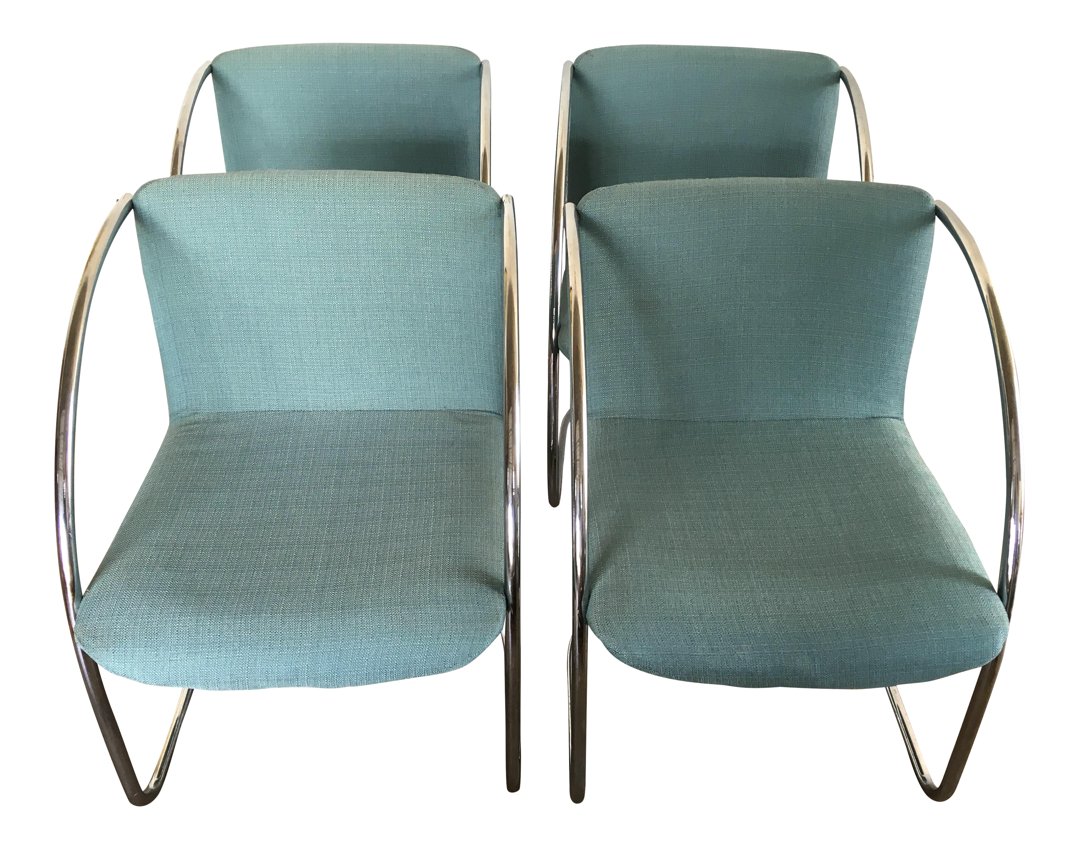 Vintage & Used Blue fice Chairs