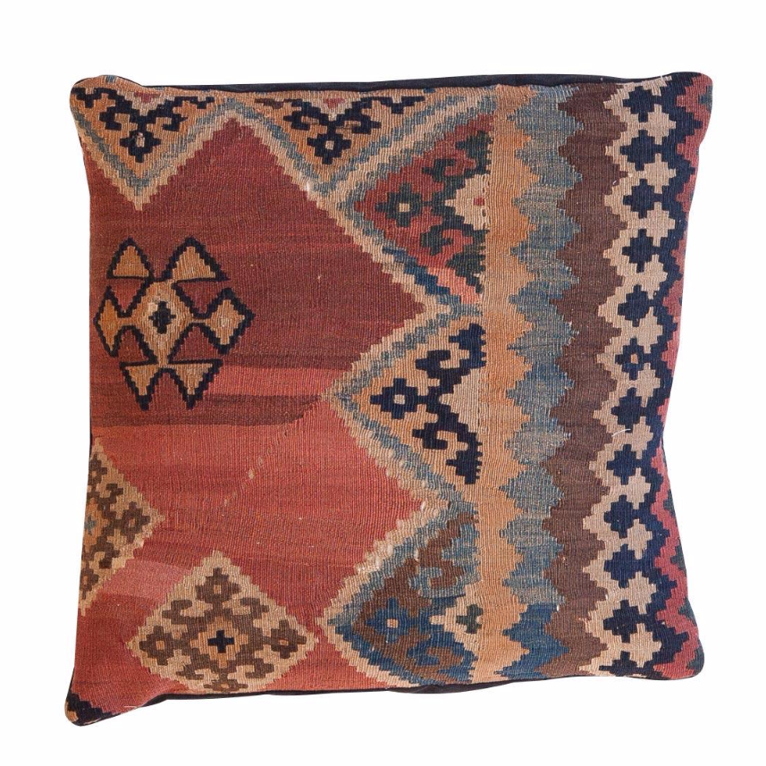 Vintage Floor Pillows : Antique Kilim Floor Pillow Chairish