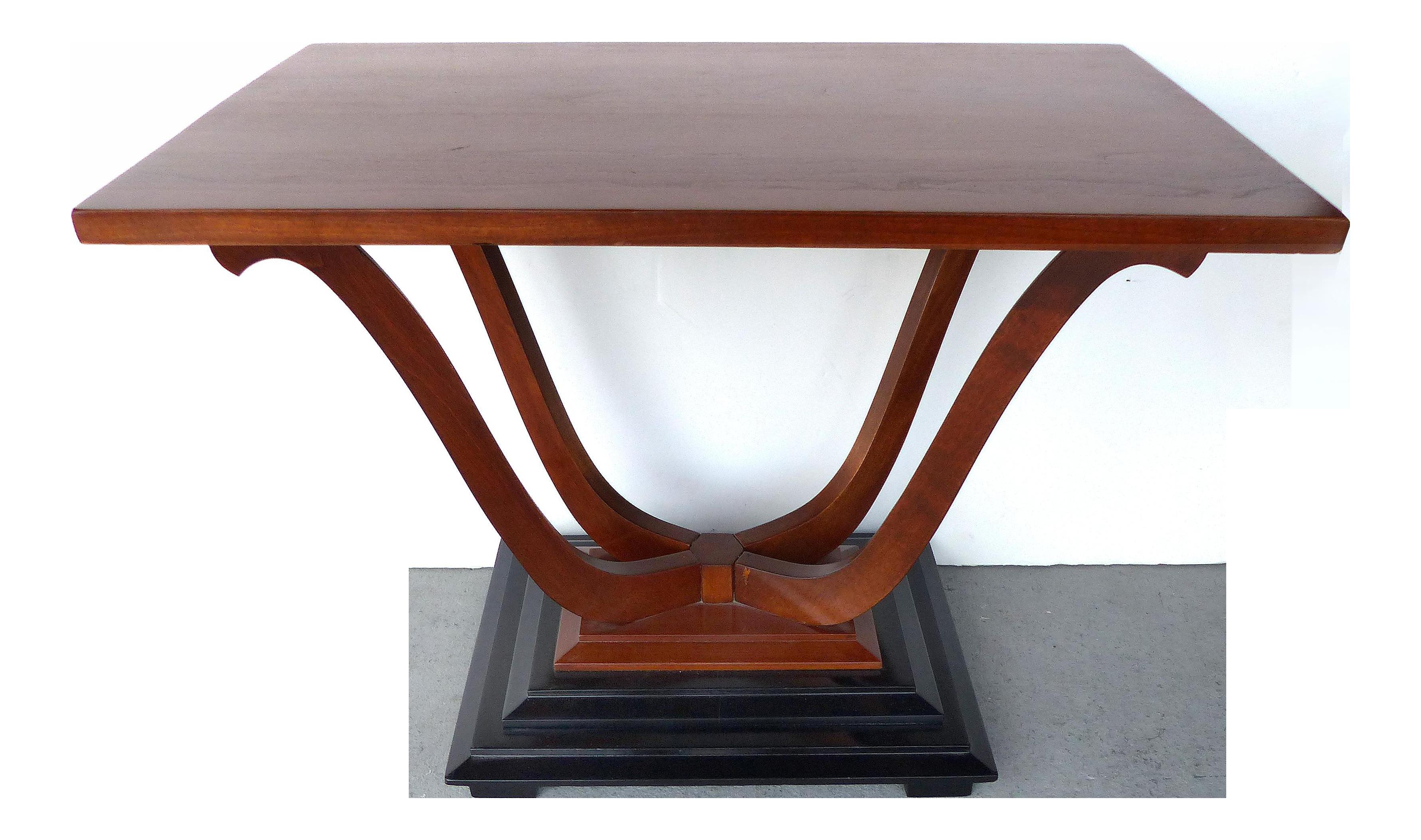 Johnson furniture art deco coffee table chairish geotapseo Images