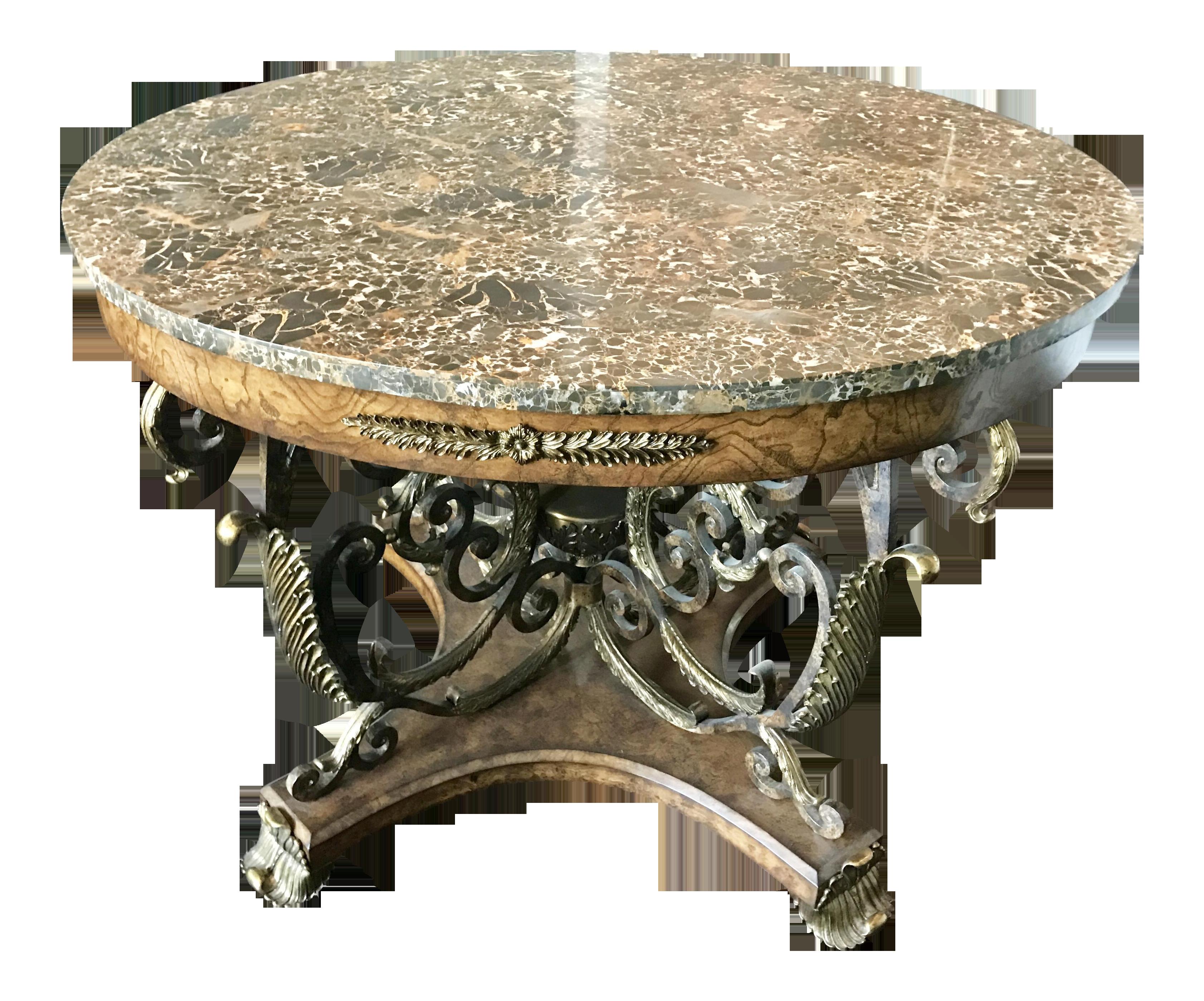 Maitland smith center table chairish for Table 52 art smith