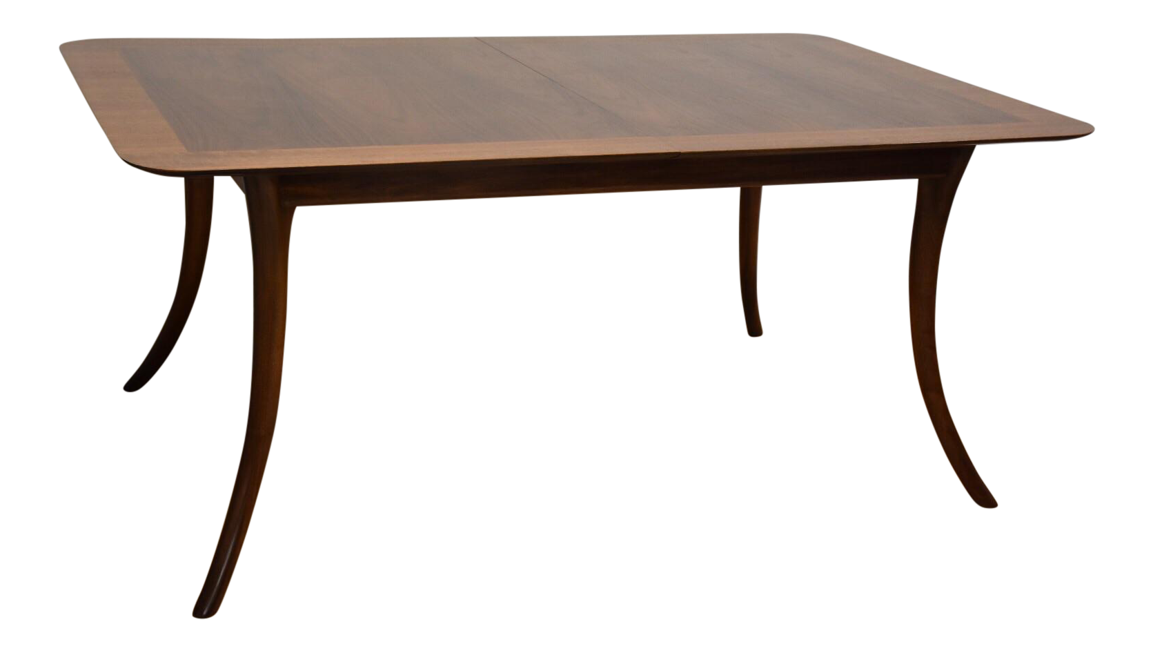 T h robsjohn gibbings for widdicomb dining table chairish for Hades dining table th8