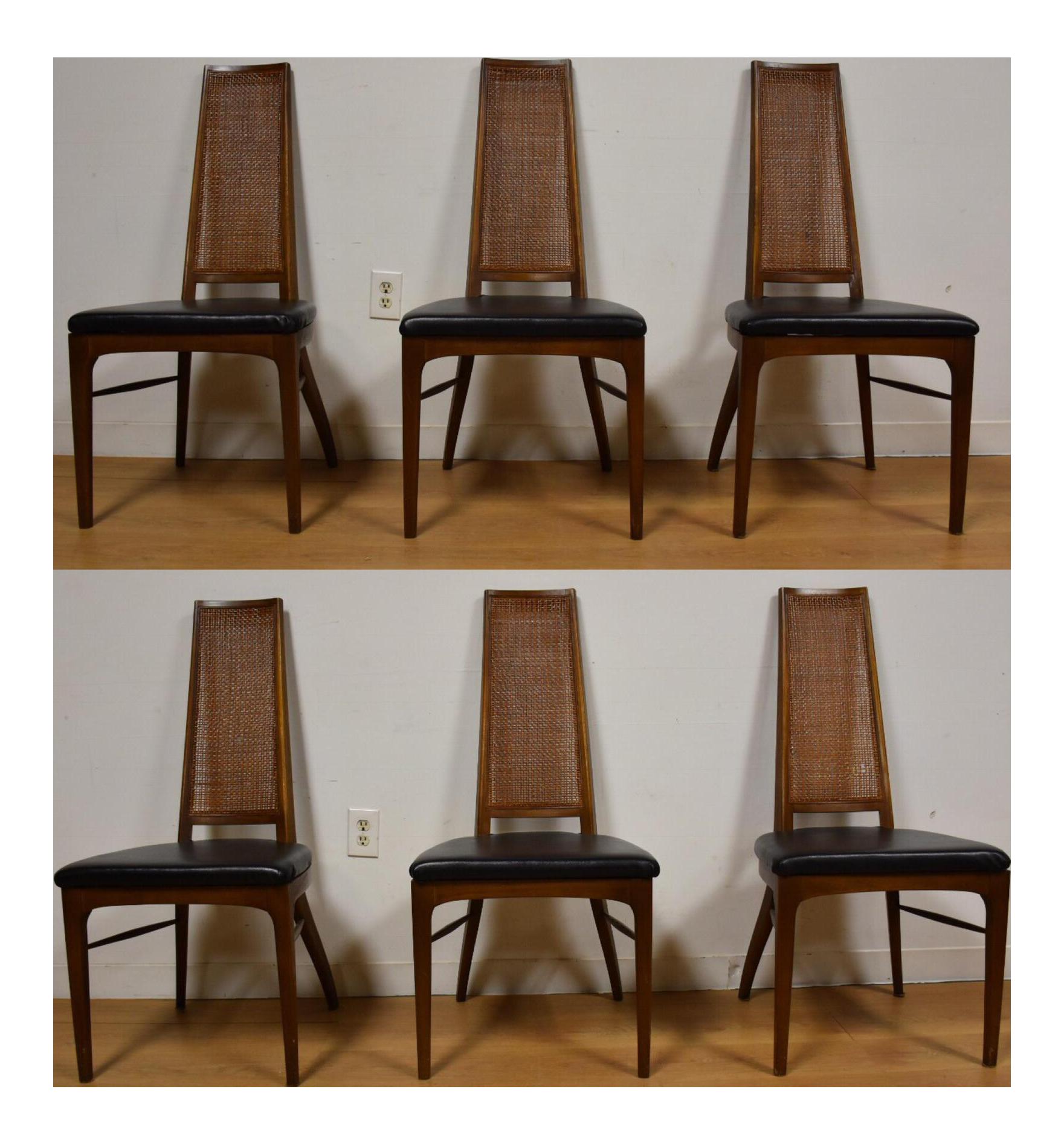 Lane Rhythm Black Vinyl Dining Chairs Set of 6 Chairish : ab1b444f b8b8 4b08 a894 88155e787609 from www.chairish.com size 1761 x 1894 png 1998kB